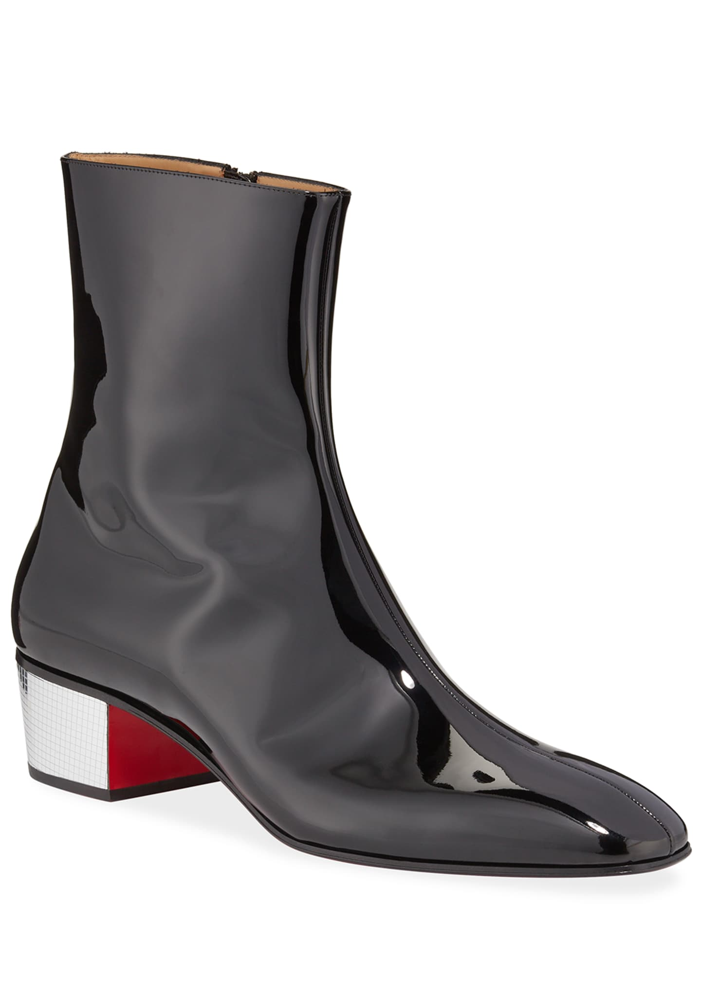 thoughts on top quality sale Christian Louboutin Men's Palace Disco Patent Red Sole Boots
