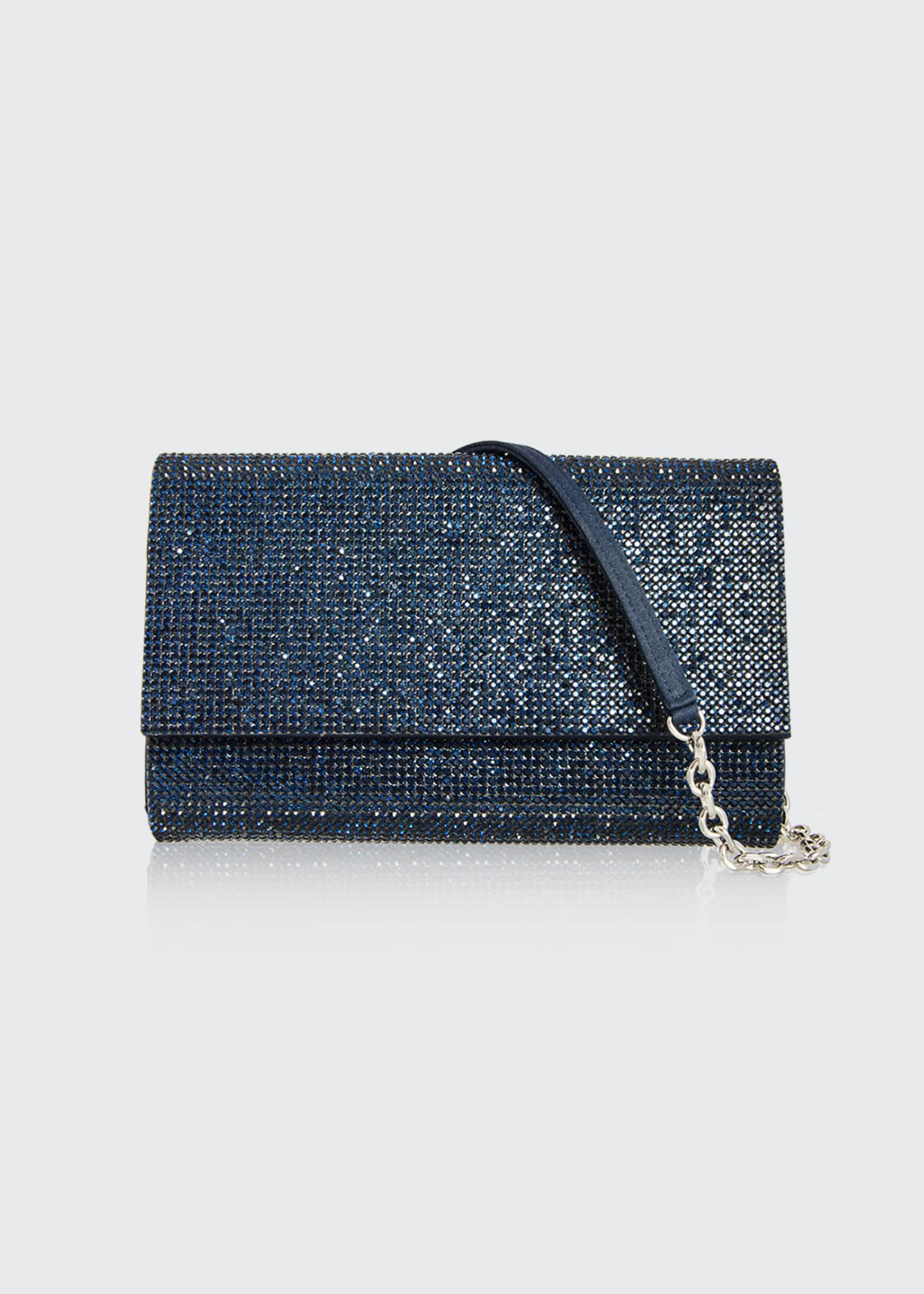 Image 1 of 2: Fizzoni Full-Beaded Clutch Bag