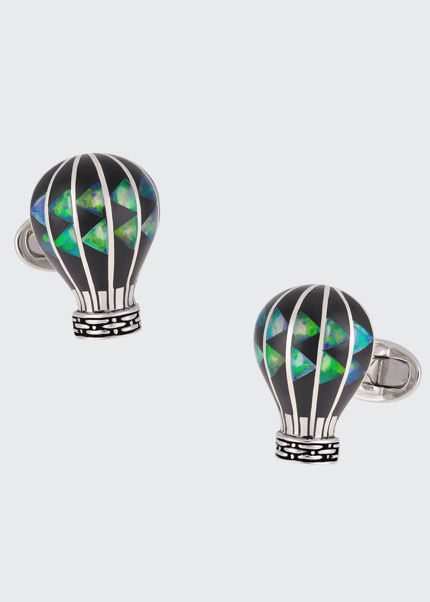 Jan Leslie Hot Air Balloon Cufflinks