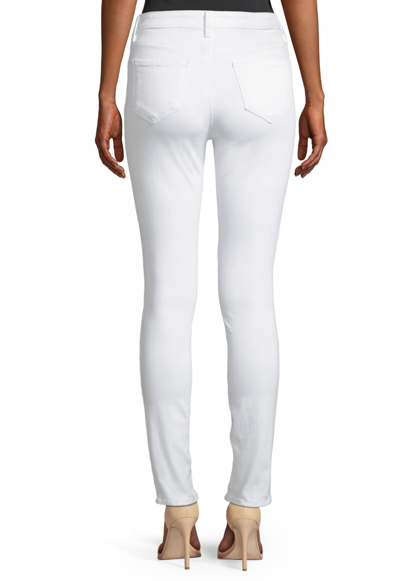 Image 2 of 2: Marguerite High-Rise Skinny Jeans