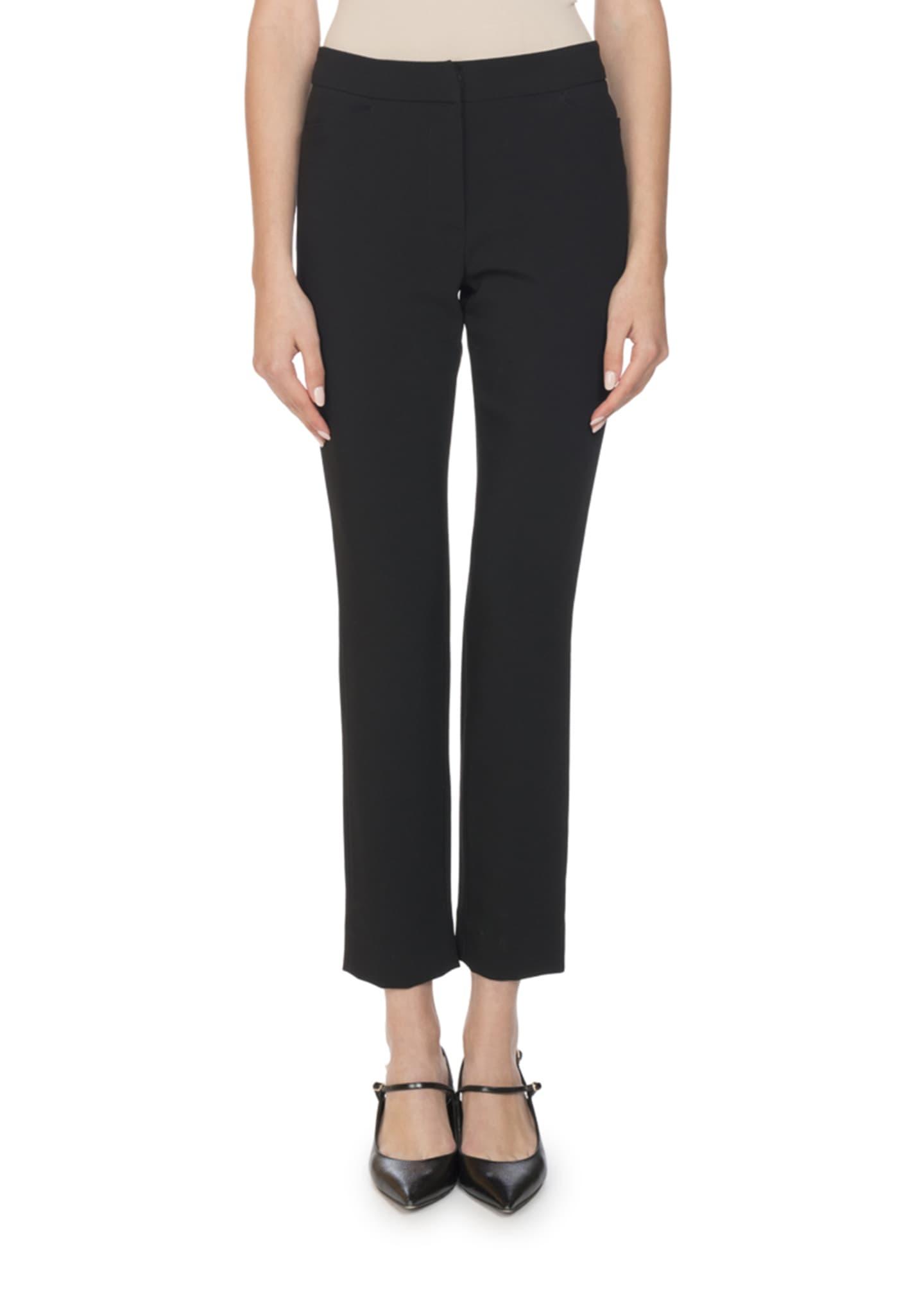 Erdem Sidney Classic Slim Pants