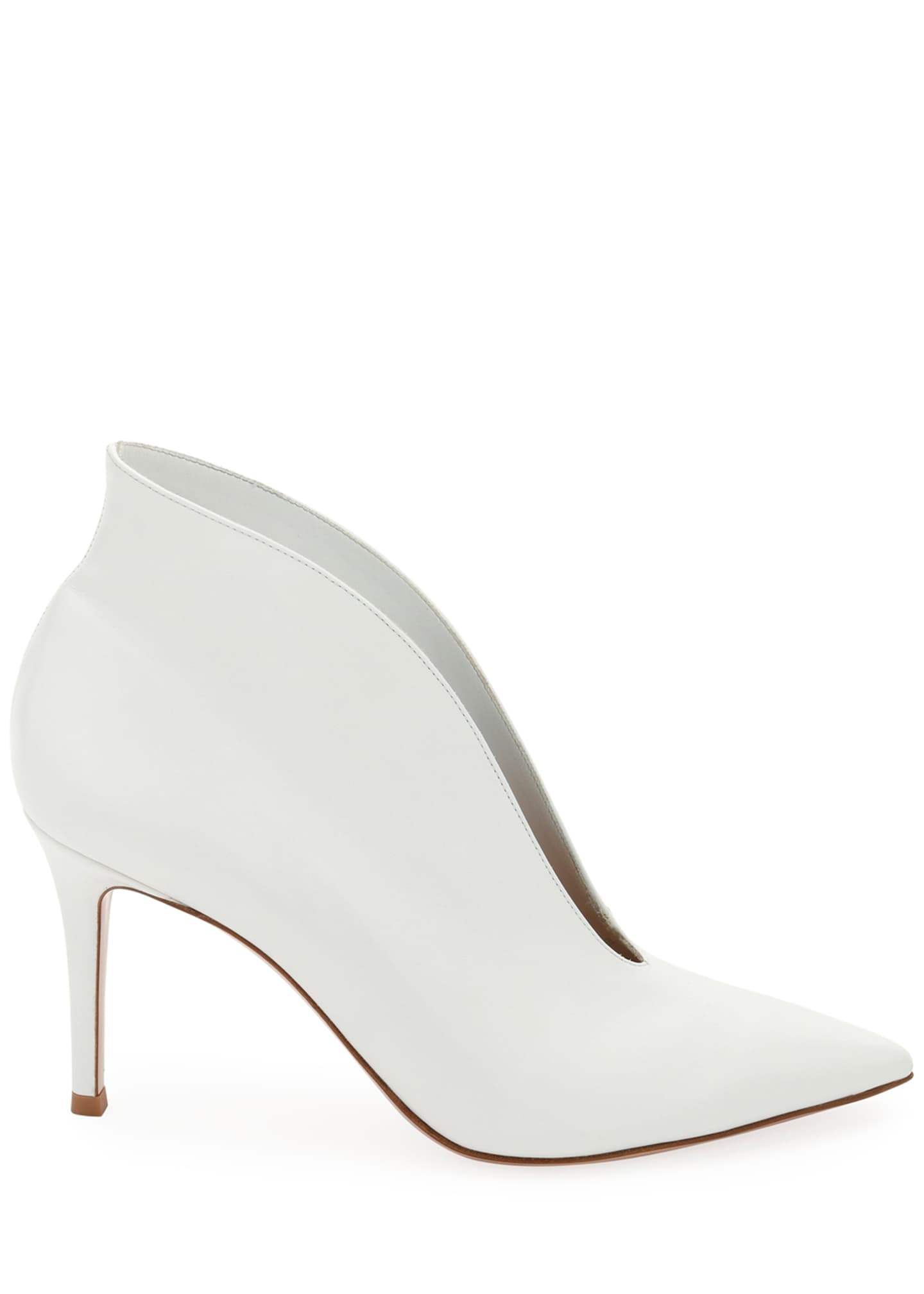 Image 2 of 2: Napa V-Neck Pointed Bootie