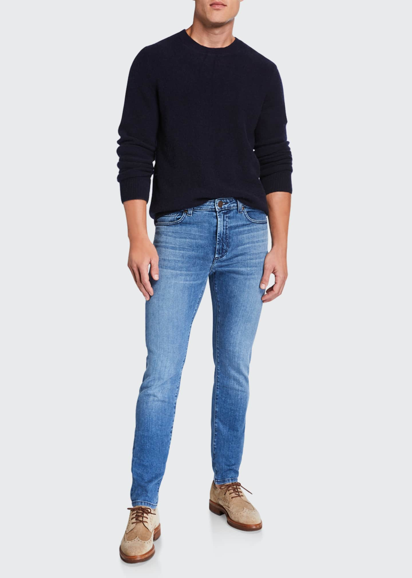 Image 3 of 3: Men's Greyson Skinny Fit Stretch Jeans
