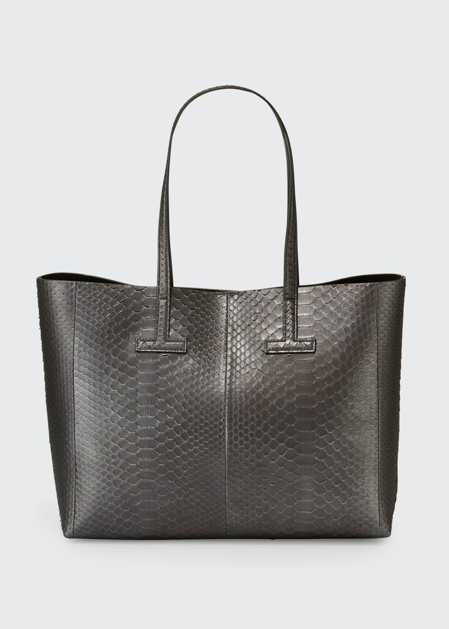 Image 1 of 2: Small Python Tote Bag