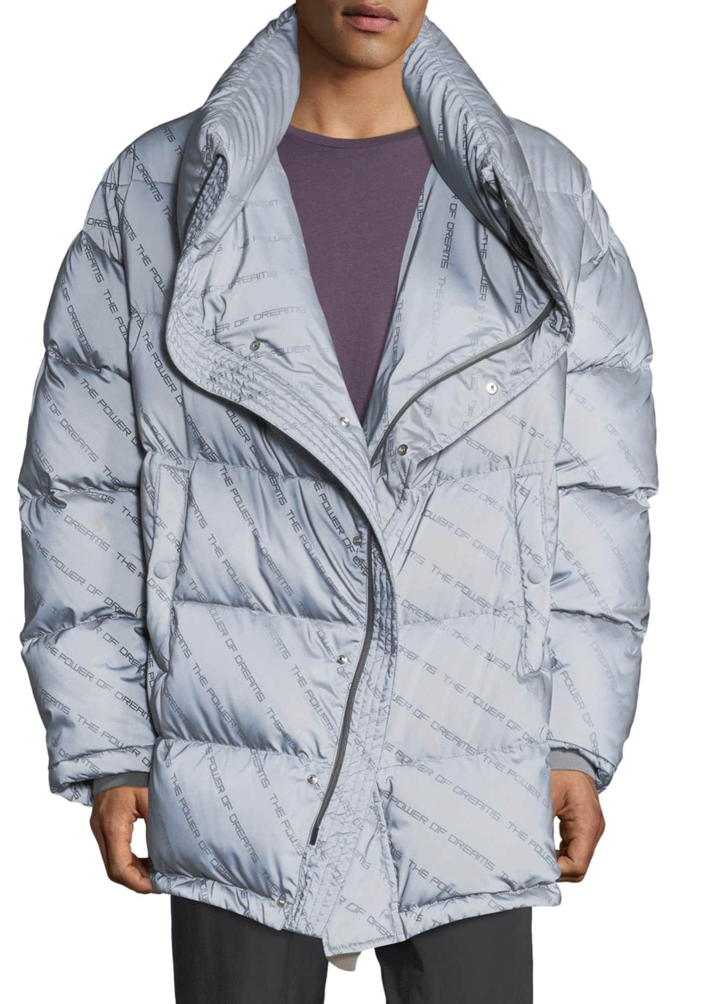 Balenciaga Men's Power of Dreams Puffer Jacket