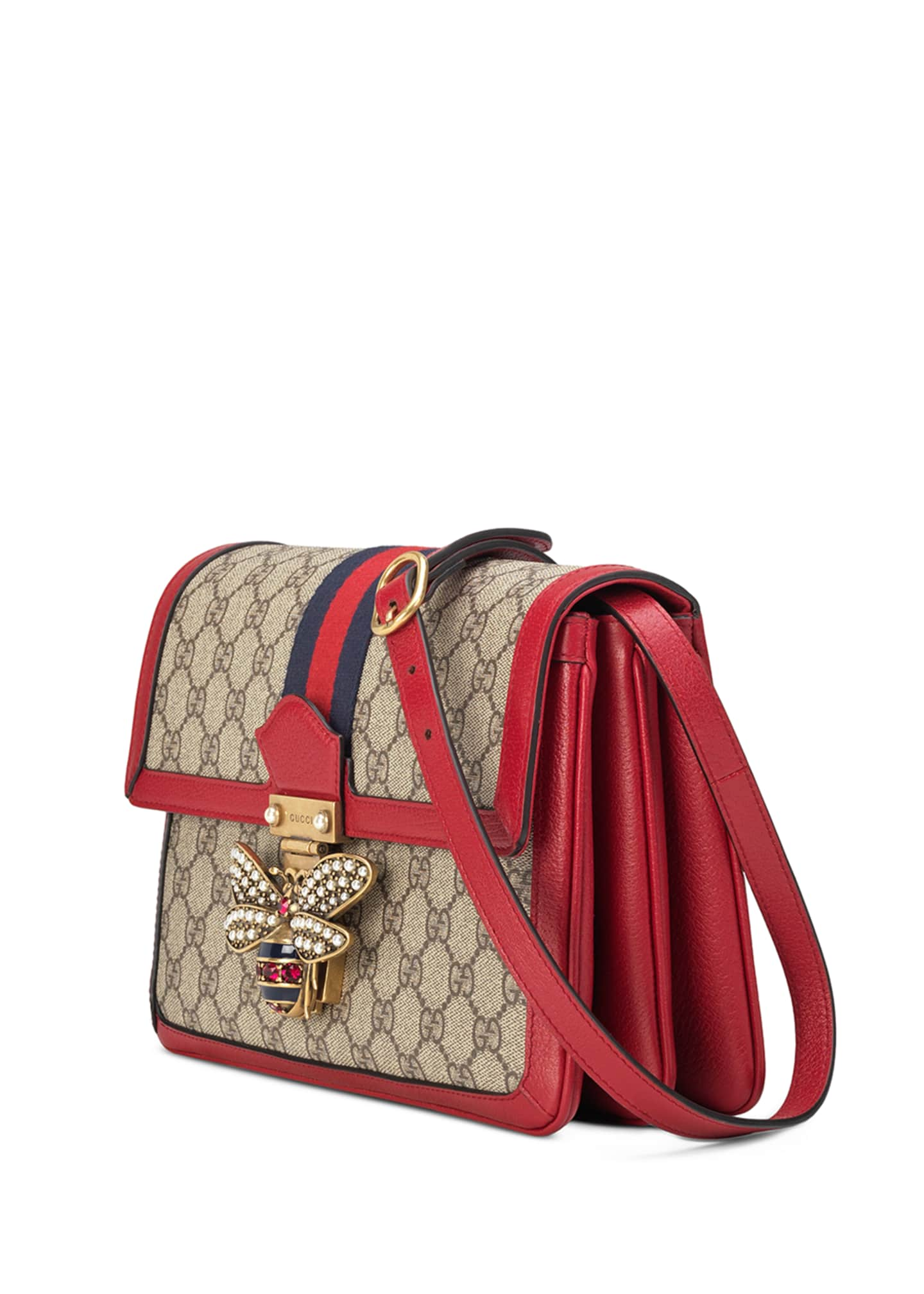 Image 2 of 4: Queen Margaret Medium GG Supreme Shoulder Bag