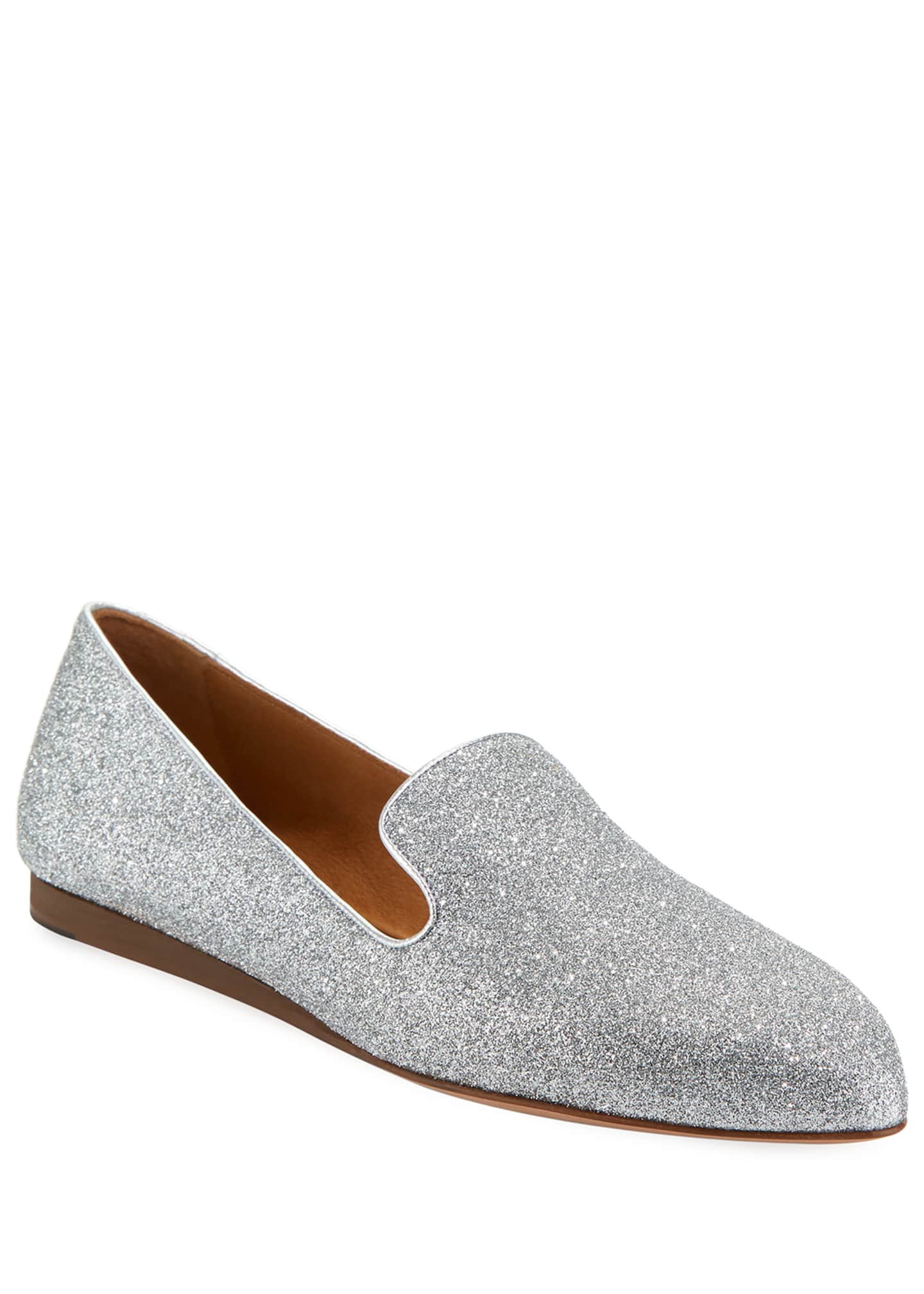 Image 1 of 3: Griffin Glitter Fabric Loafer