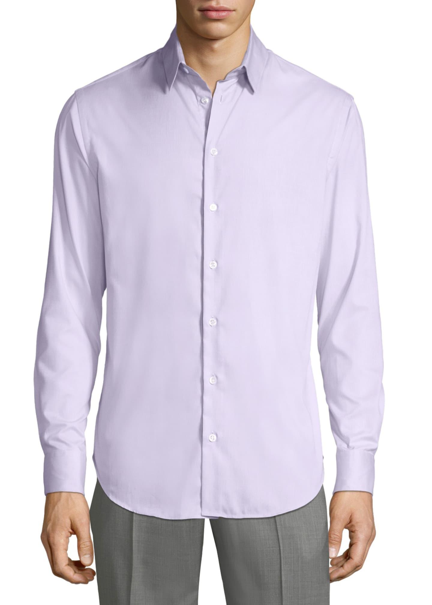 Giorgio Armani Men's Micro Neat Sport Shirt