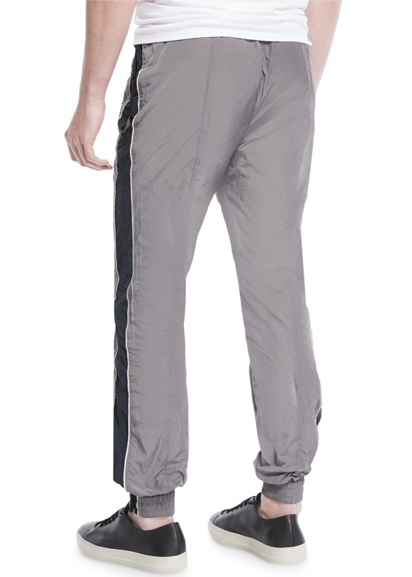 Image 2 of 3: Colorblocked Nylon Track Pants
