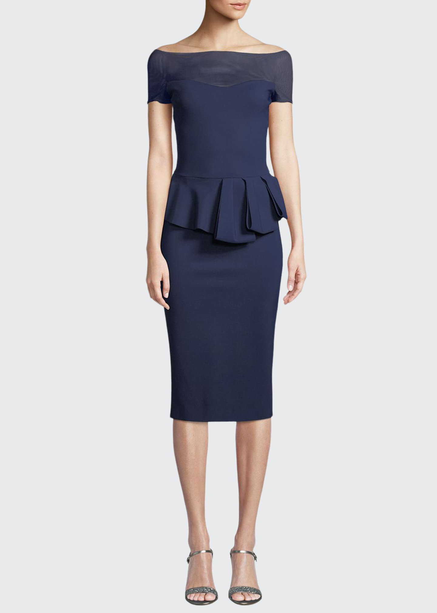 Chiara Boni La Petite Robe Nabelle Illusion Dress