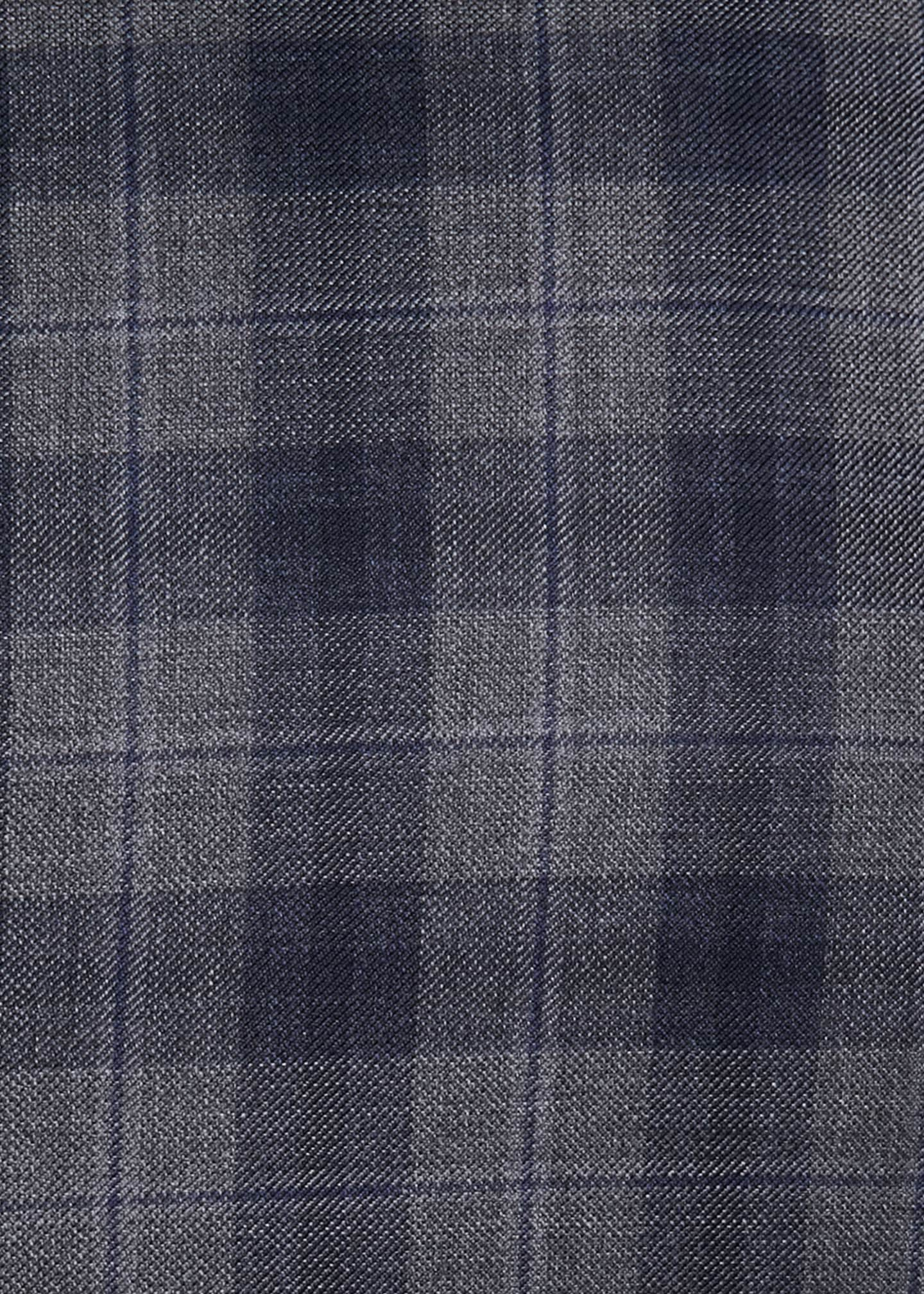 Image 3 of 3: Two-Tone Plaid Two-Button Sport Jacket