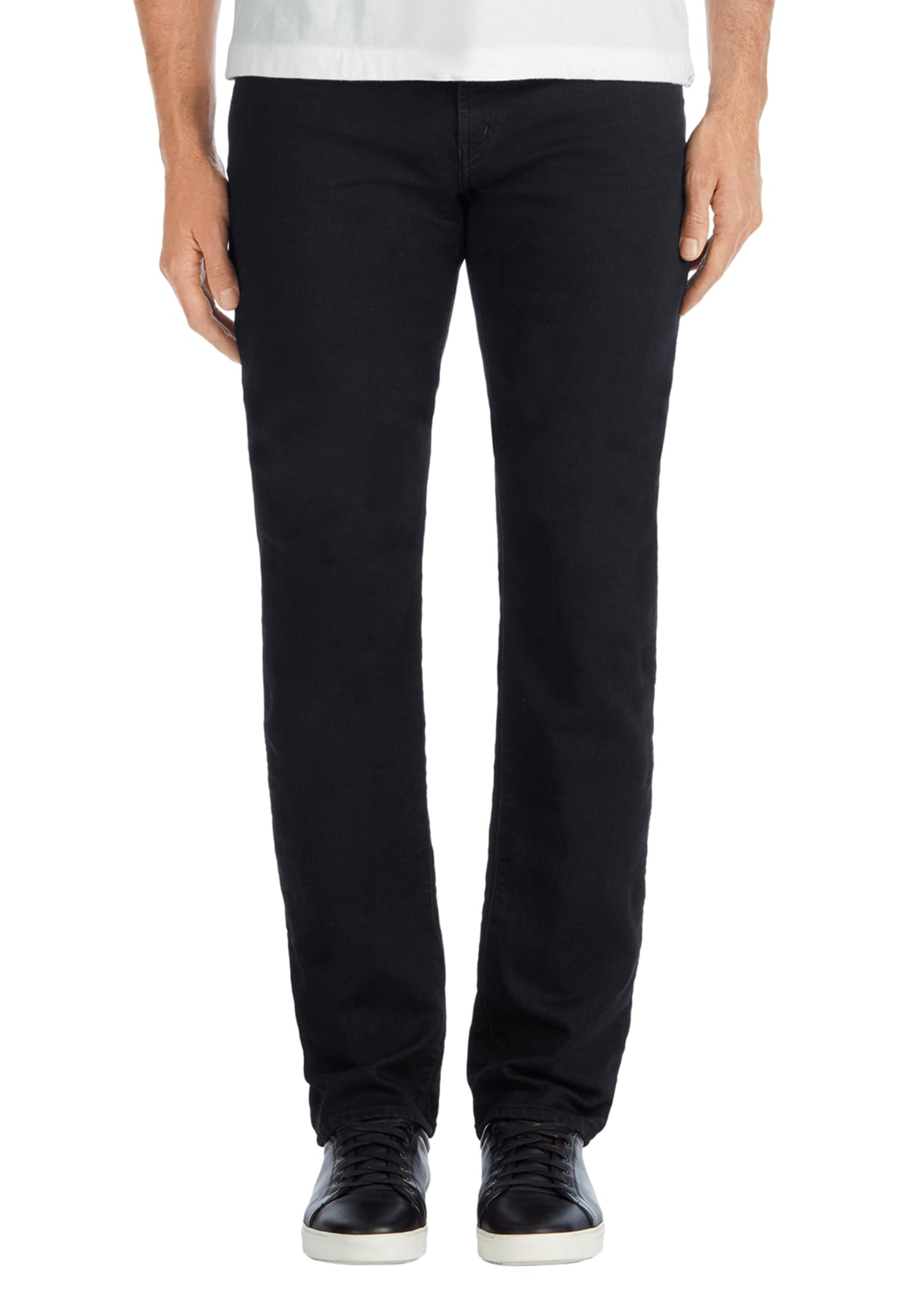 J Brand Men's Kane Straight-Leg French Terry Jeans,