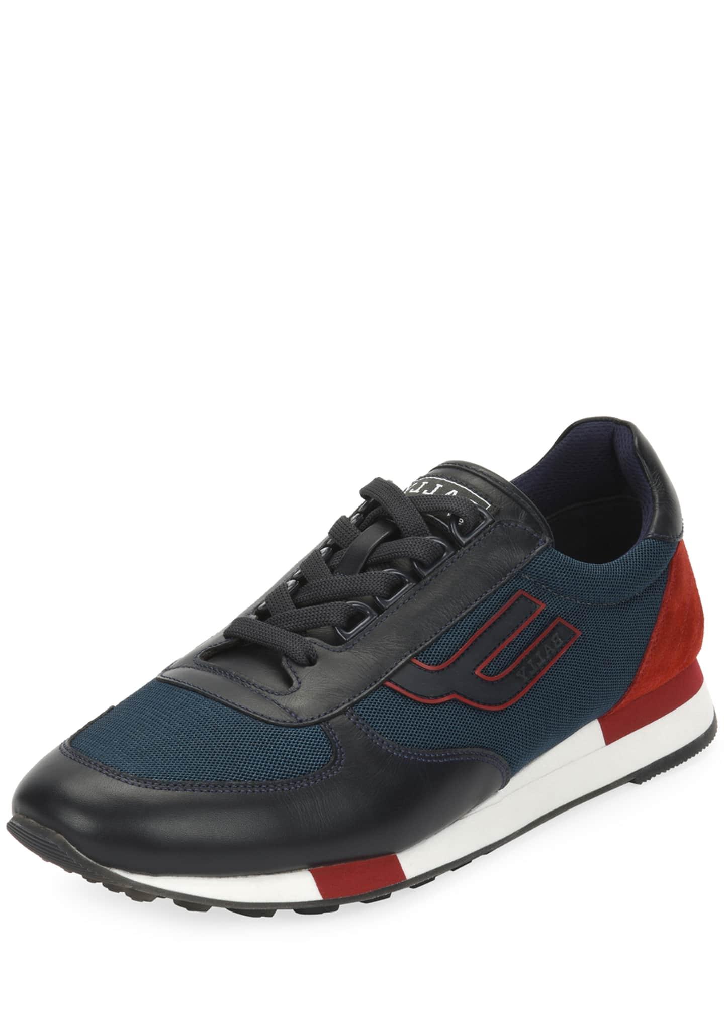 Bally Men's Gavino Retro Runner Sneakers