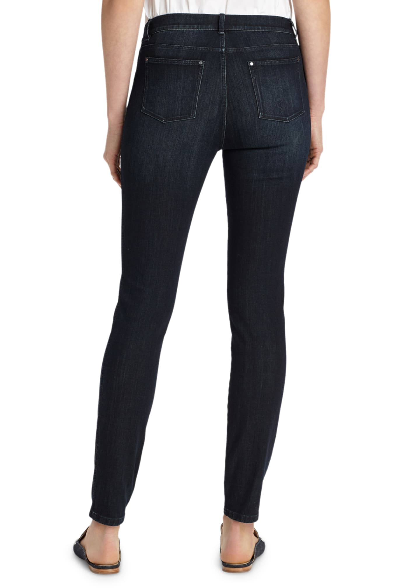 Image 2 of 4: Mercer Stretch-Denim Slim-Leg Jeans