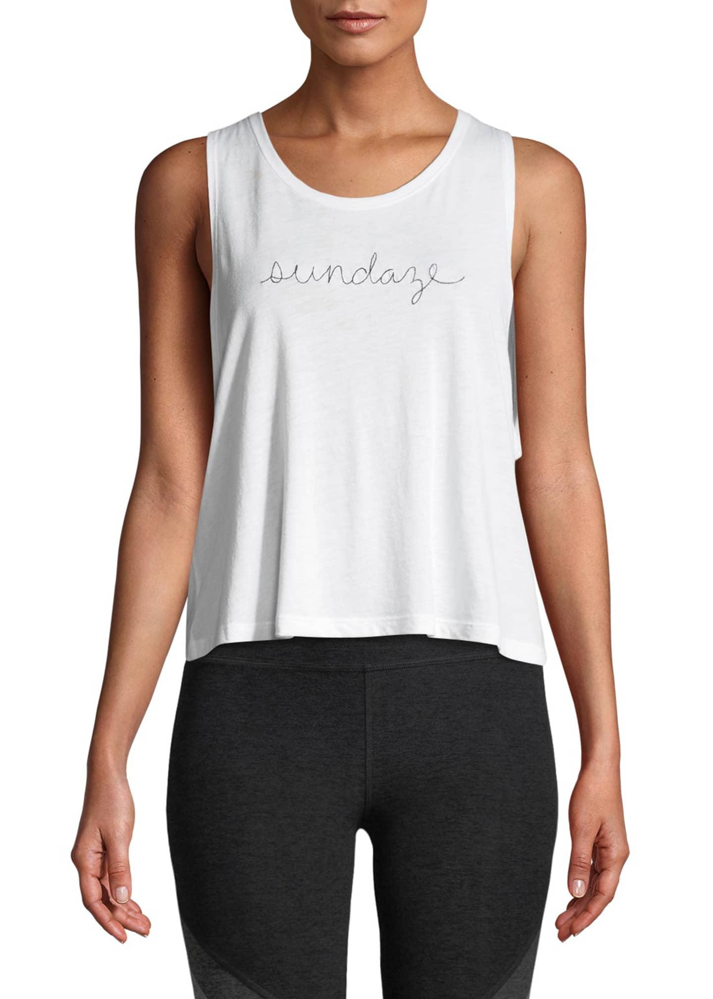 Beyond Yoga Sundaze Sleeveless Twist-Back Tank