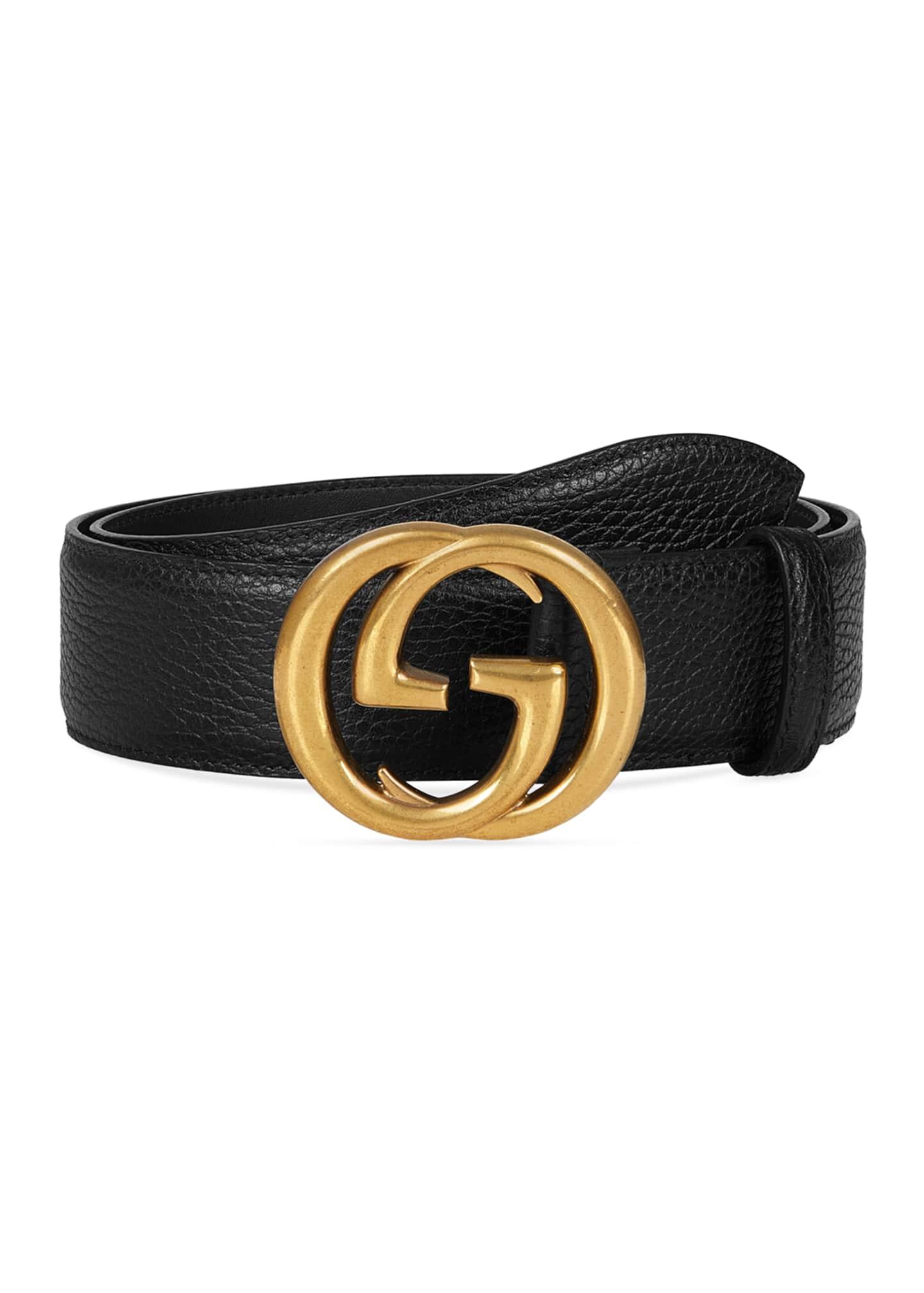 Gucci Men's Interlocking GG Marmont Belt