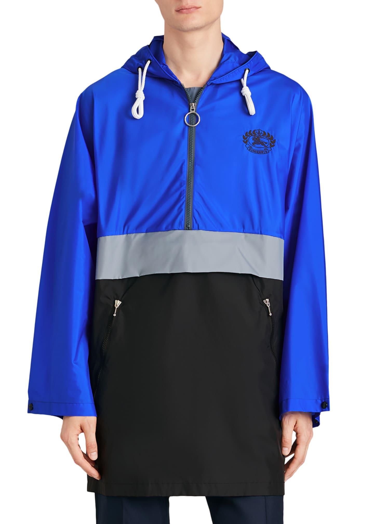 Burberry Men's Lakebridge Colorblock Parka Jacket