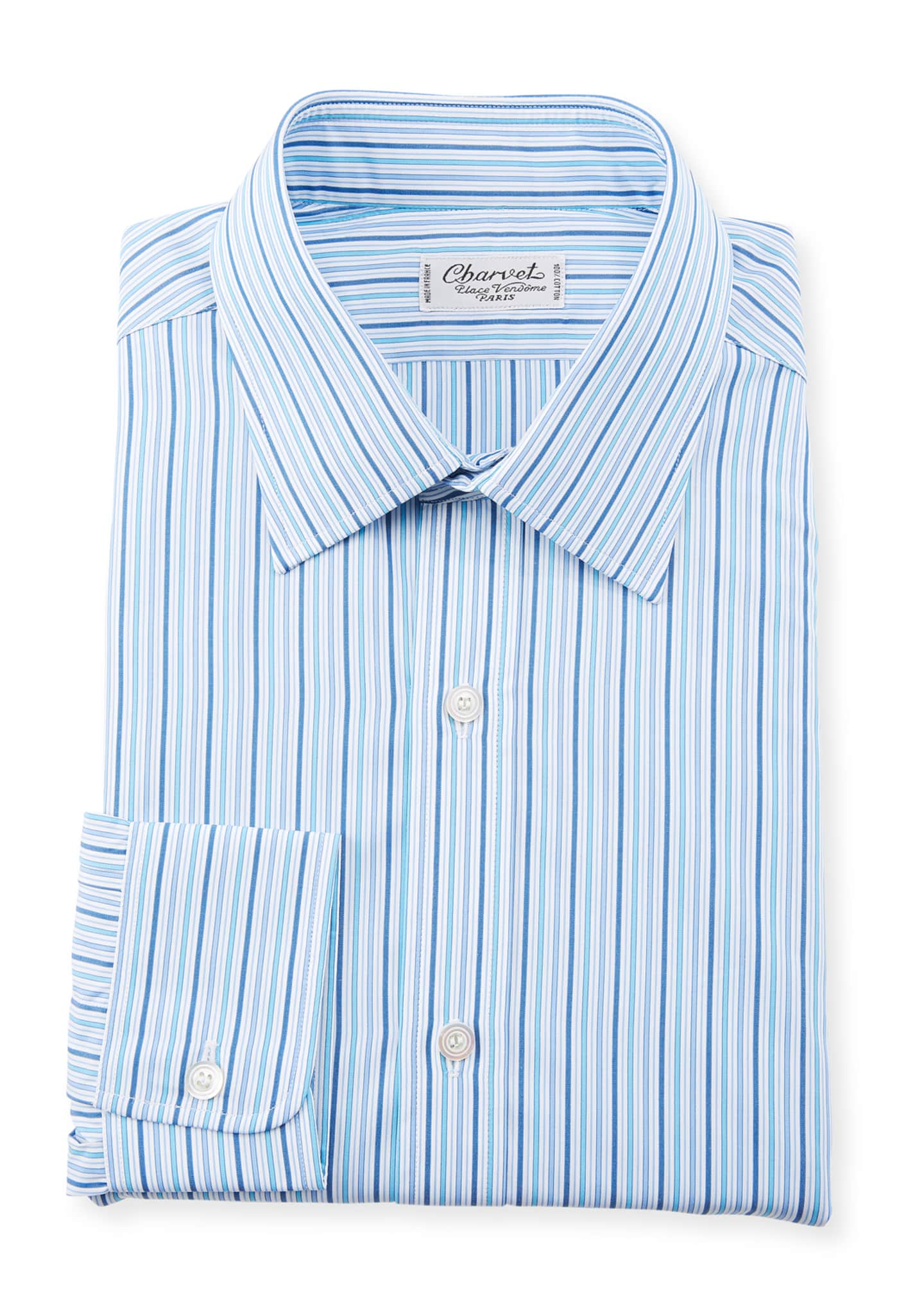 Charvet Men's Striped Dress Shirt