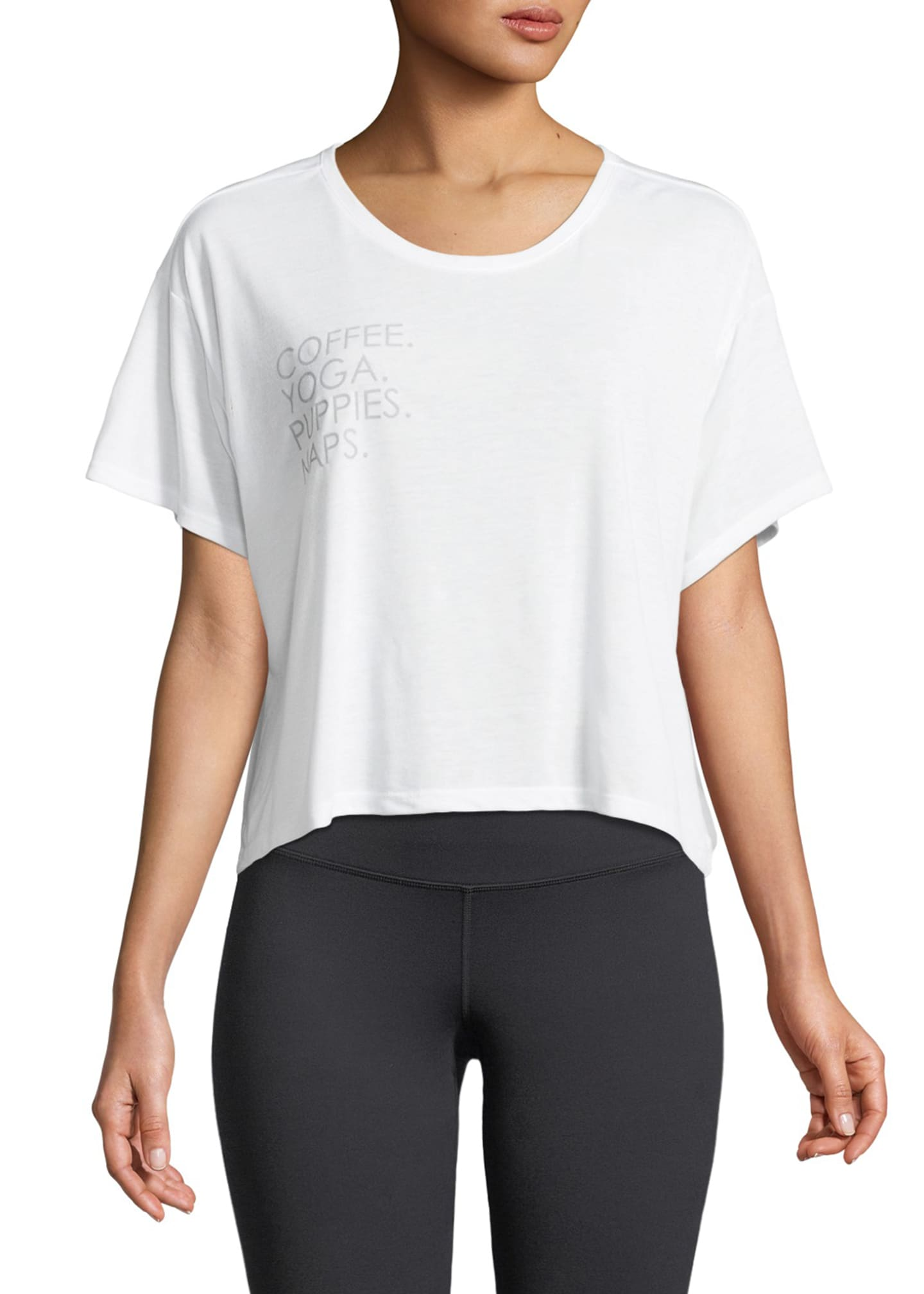 FOR BETTER NOT WORSE Boxy Short-Sleeve Graphic Tee