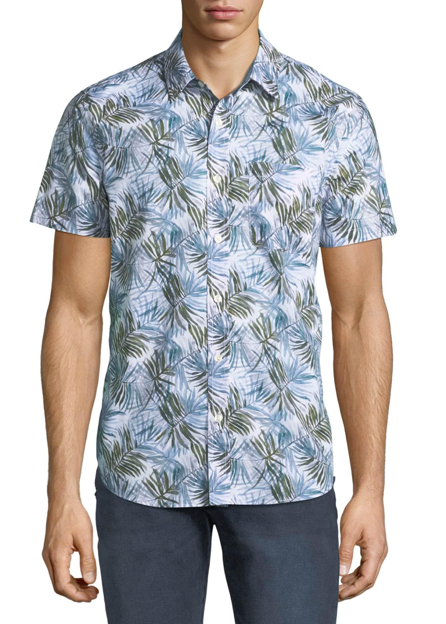 AG Men's Nash Short-Sleeve Sport Shirt