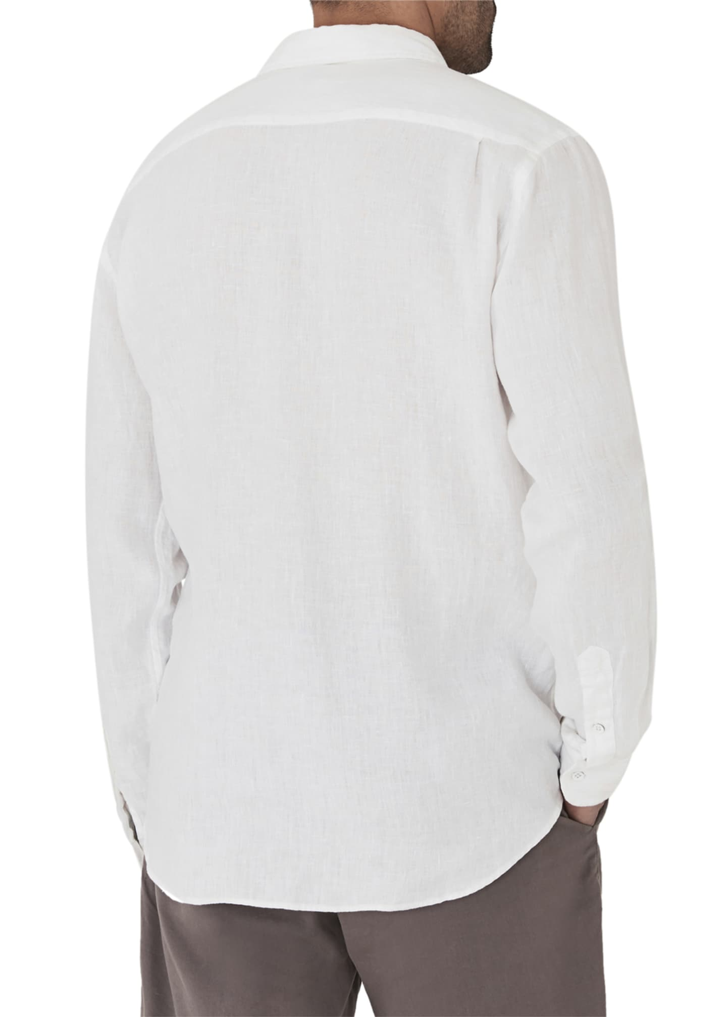 Image 2 of 2: Men's Laguna Linen Sport Shirt