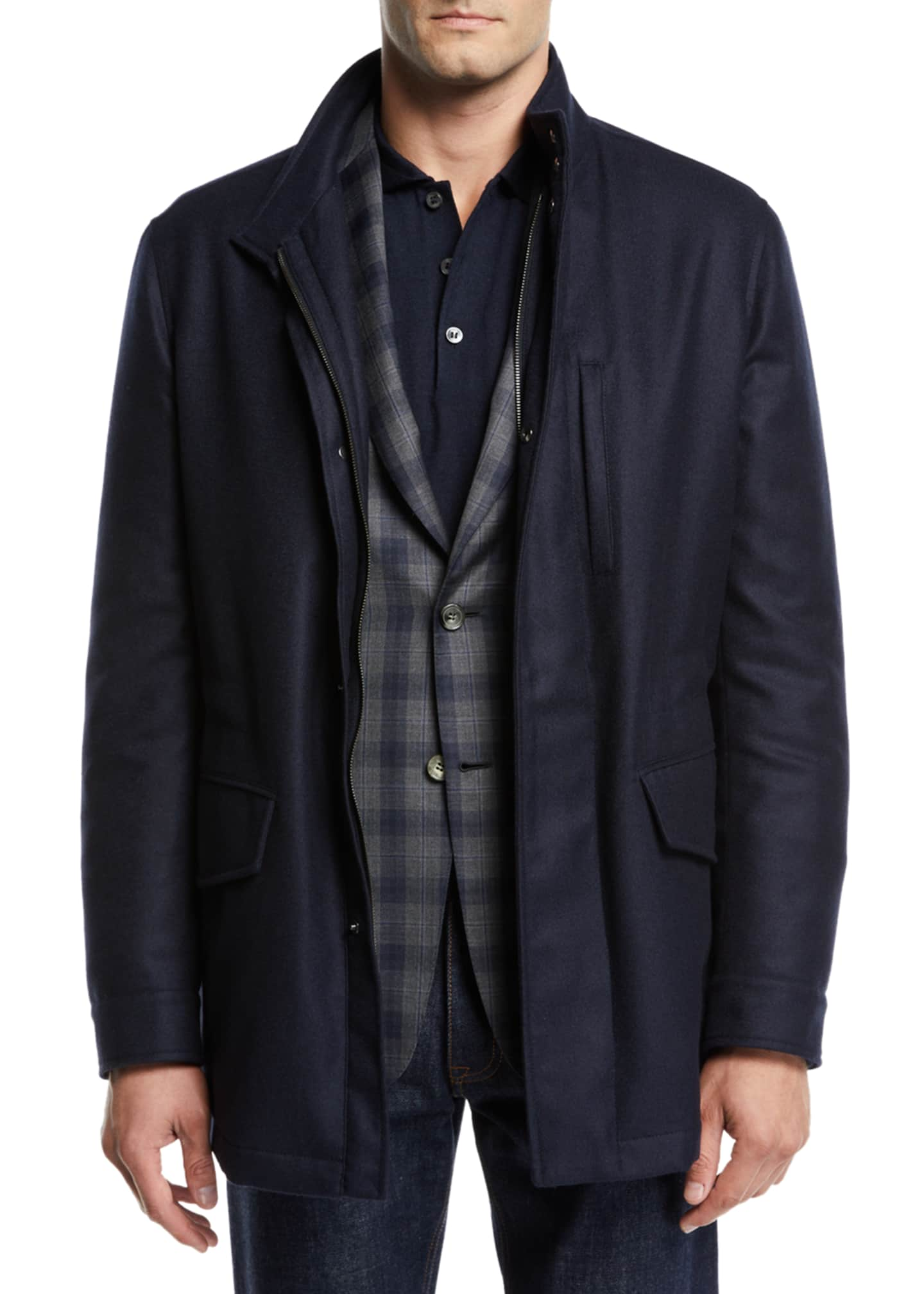 Brioni Men's Cashmere Field Jacket