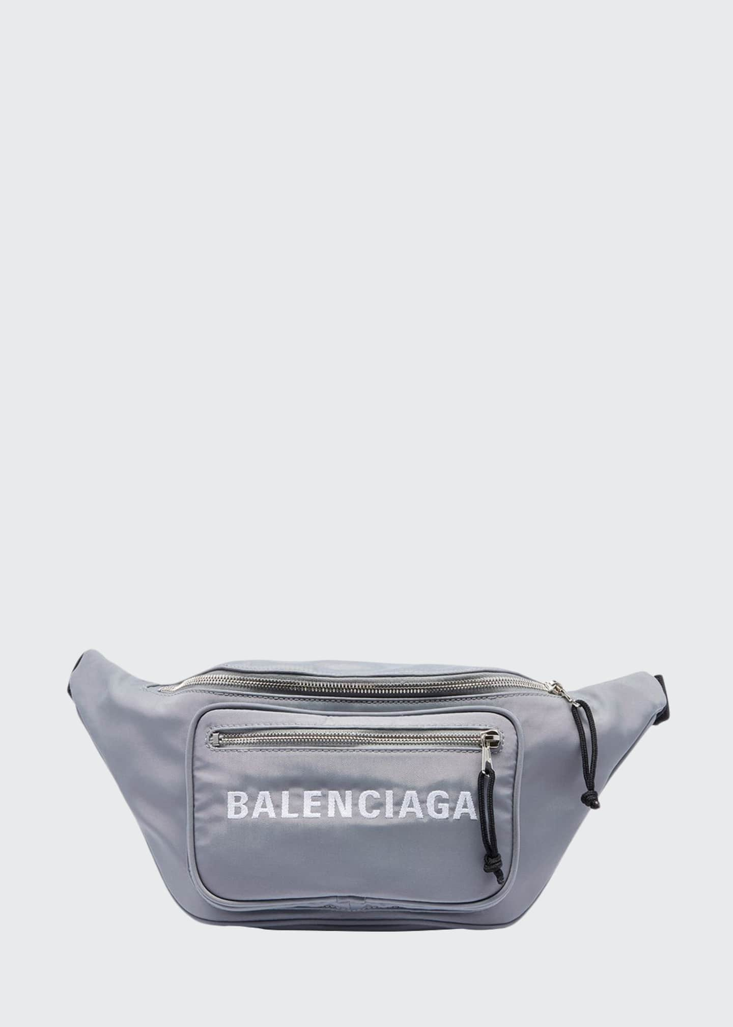 Balenciaga Wheel Canvas Belt Fanny Pack Bag with