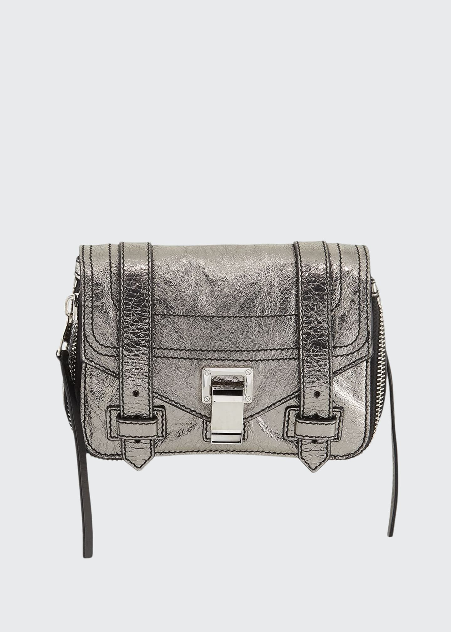 Proenza Schouler PS1+ Mini Metallic Crossbody Bag