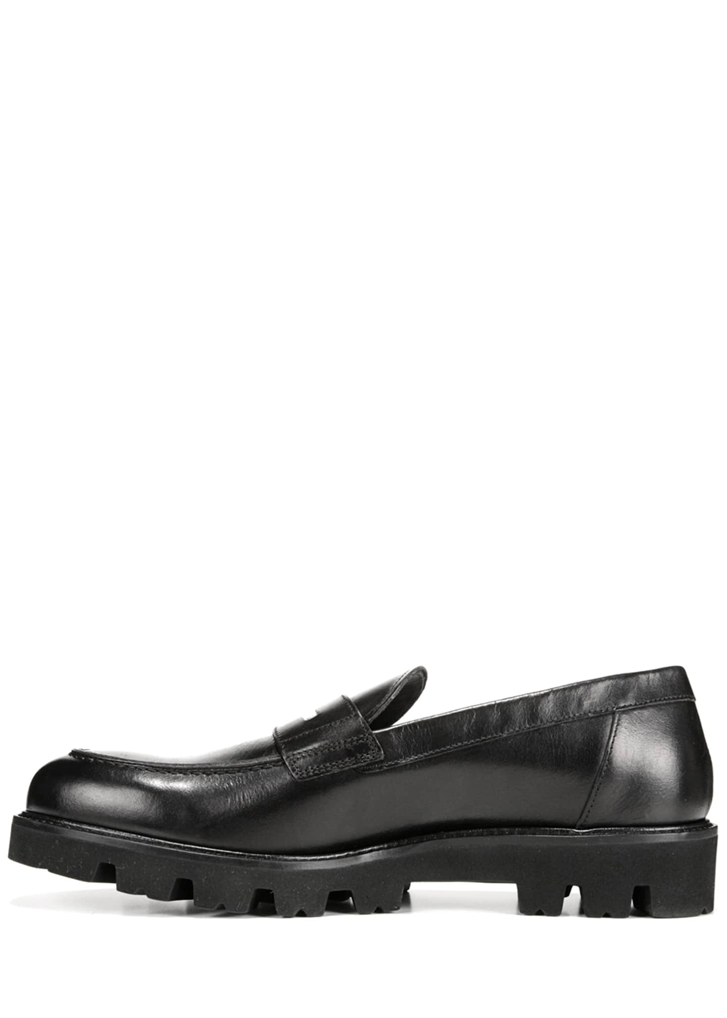 Image 2 of 5: Men's Comrade Leather Lug-Sole Loafer