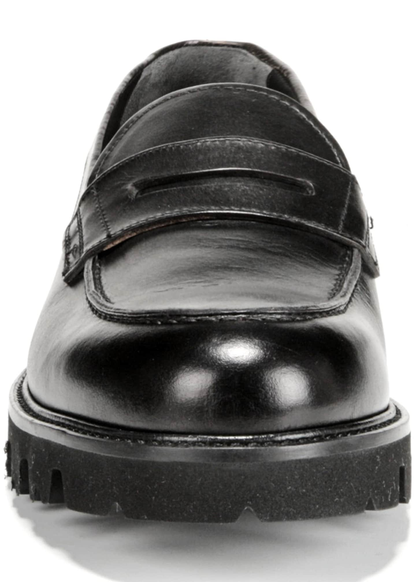 Image 3 of 5: Men's Comrade Leather Lug-Sole Loafer