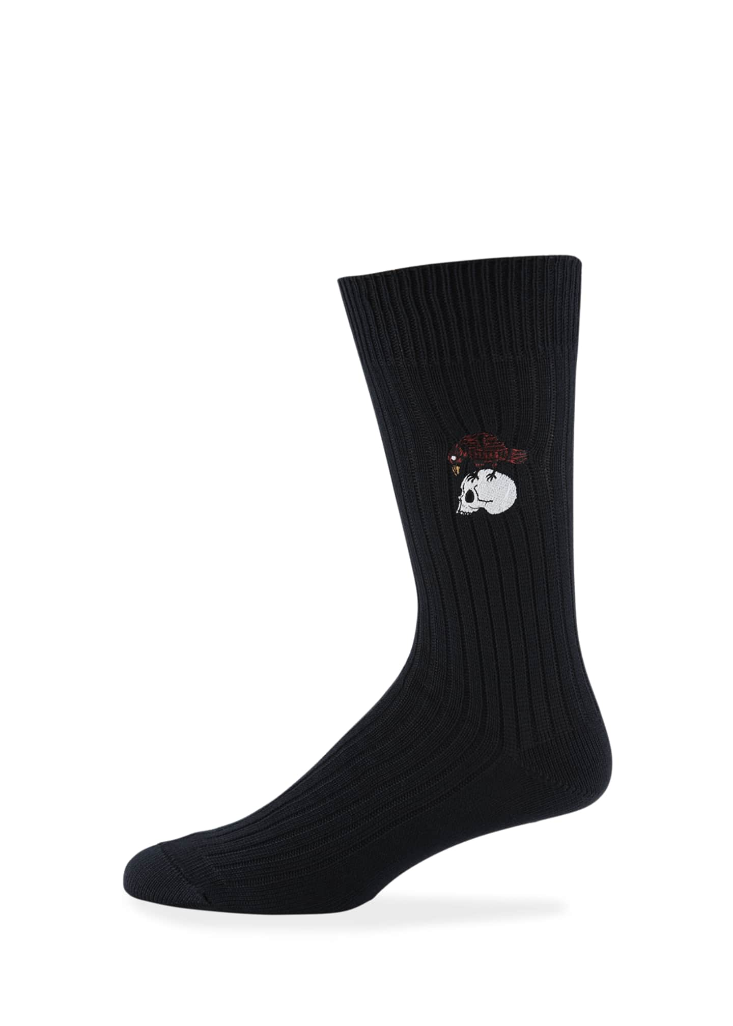Alexander McQueen Men's Chunky Skull Cotton Socks
