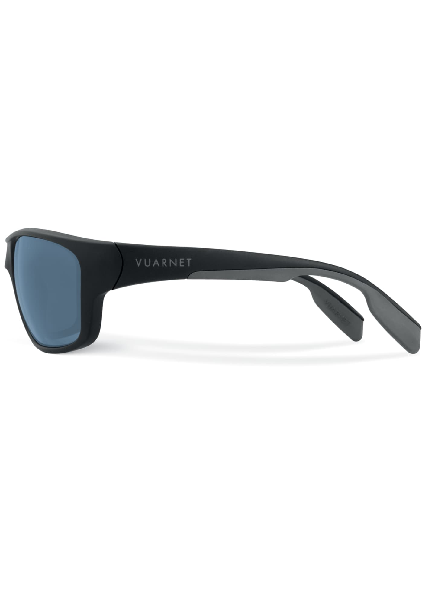 Image 3 of 3: Men's Active Racing Large Nylon Wrap Sunglasses