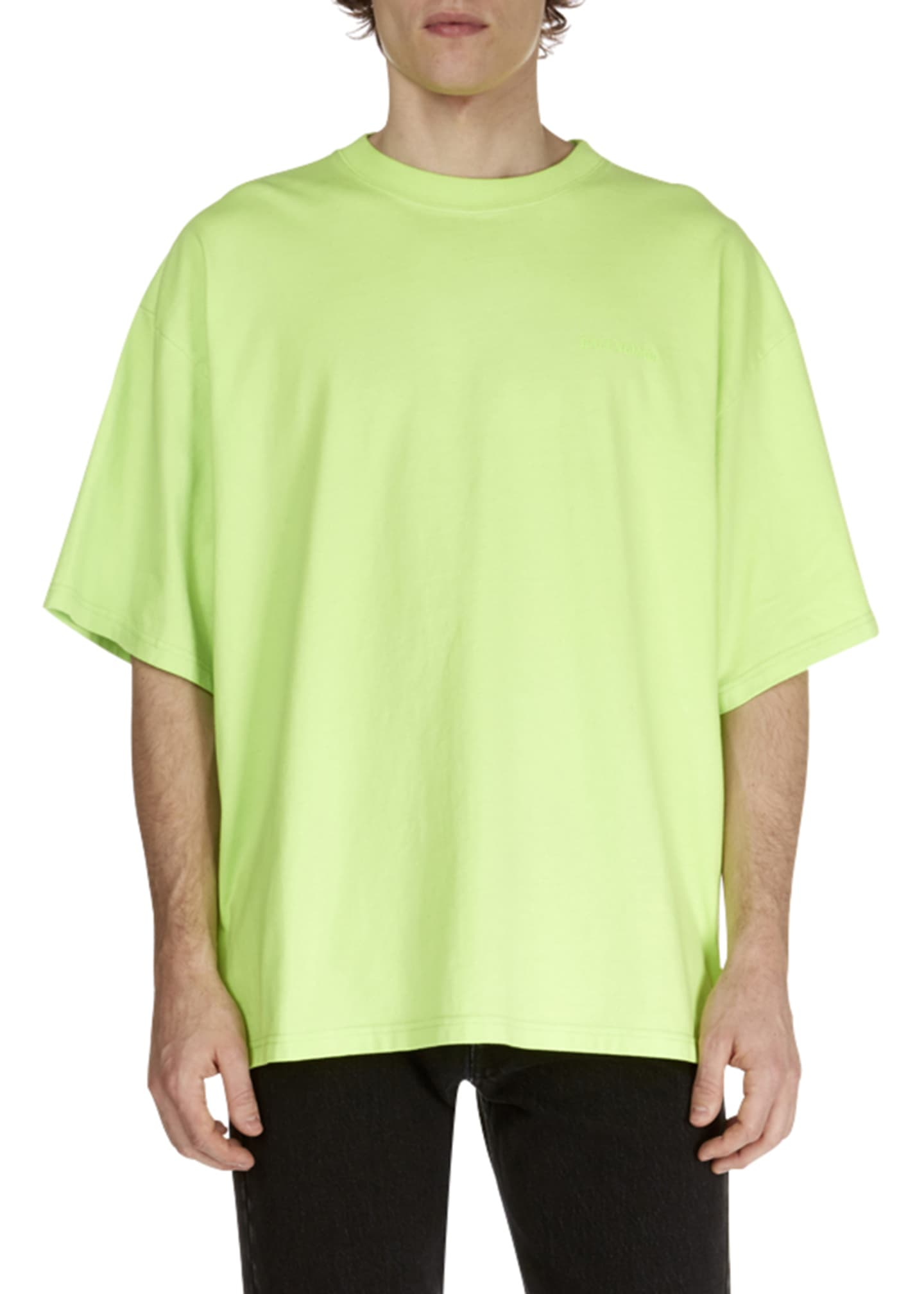 Balenciaga Men's Ego Cycle Graphic T-Shirt
