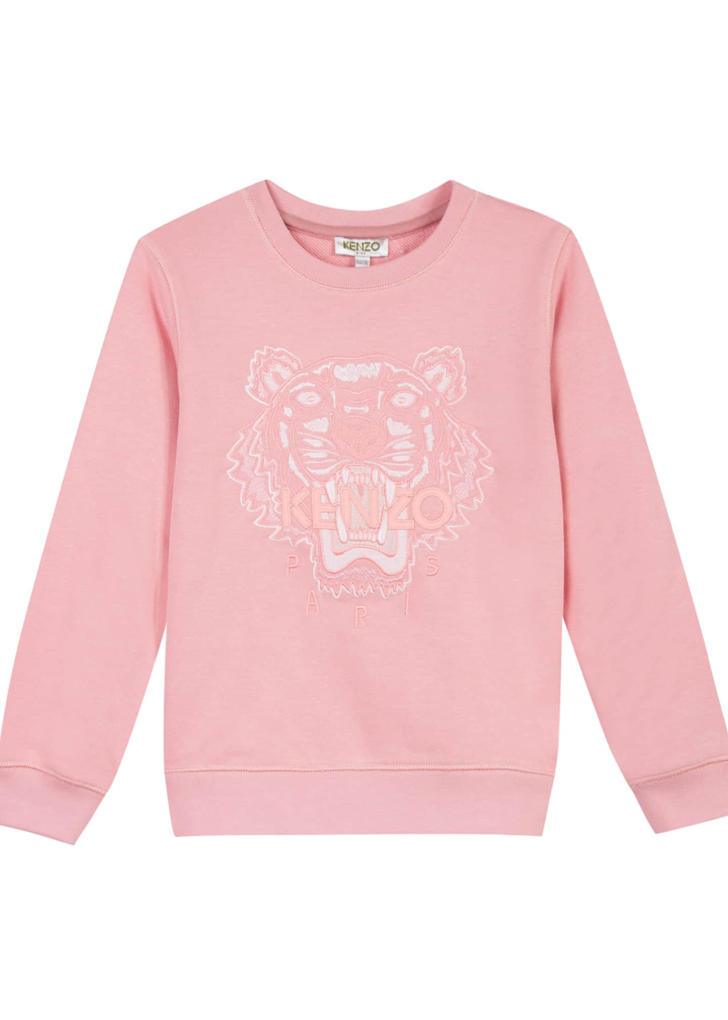 Image 1 of 3: Tiger Face Icon Sweatshirt, Sizes 8-12