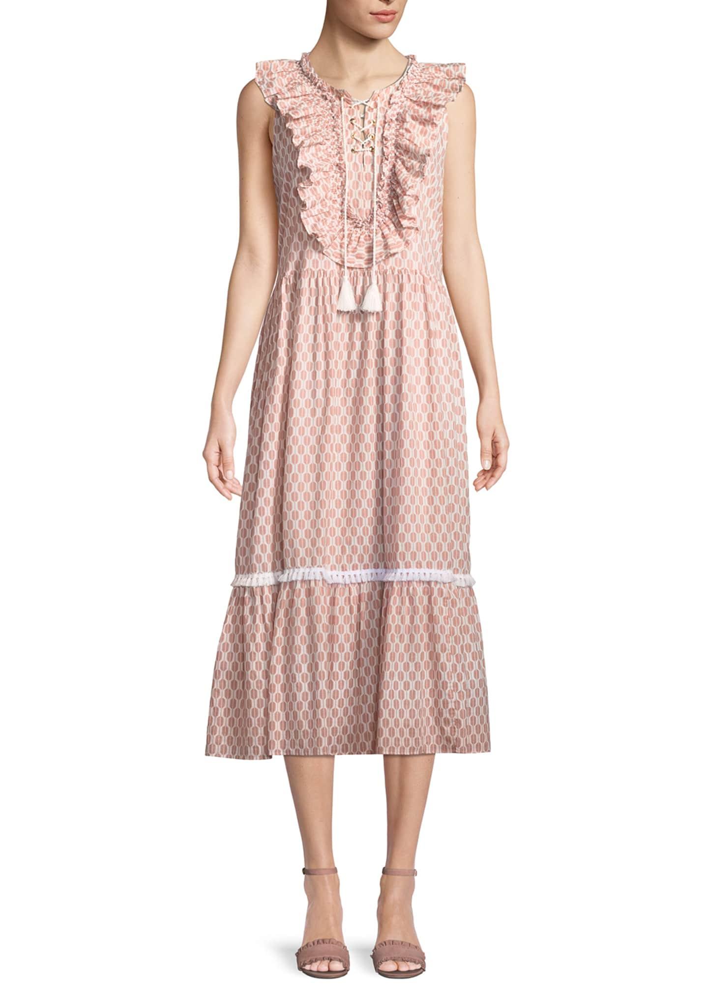 kate spade new york arrow stripe dress w/
