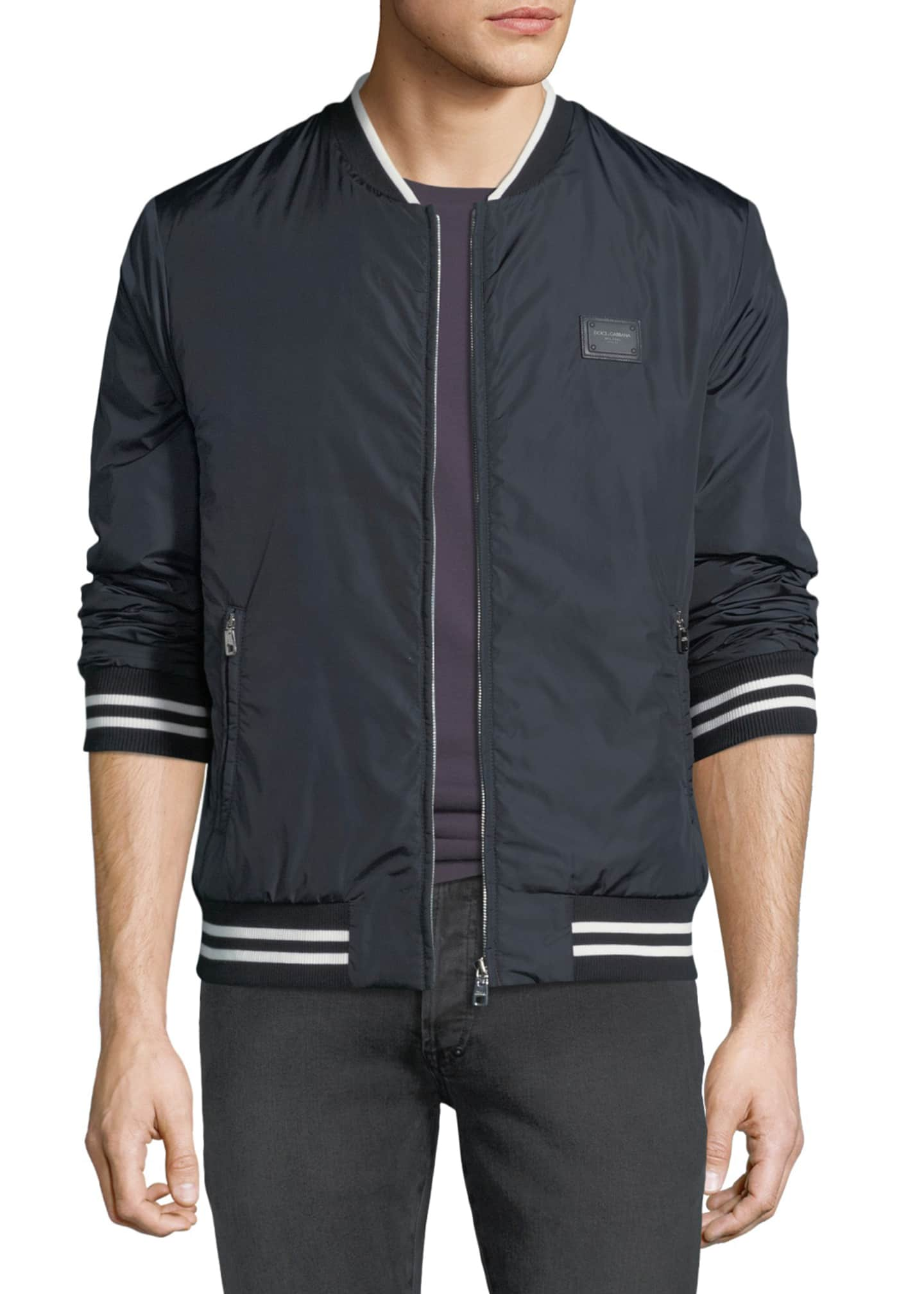 Dolce & Gabbana Men's Nylon Track Jacket