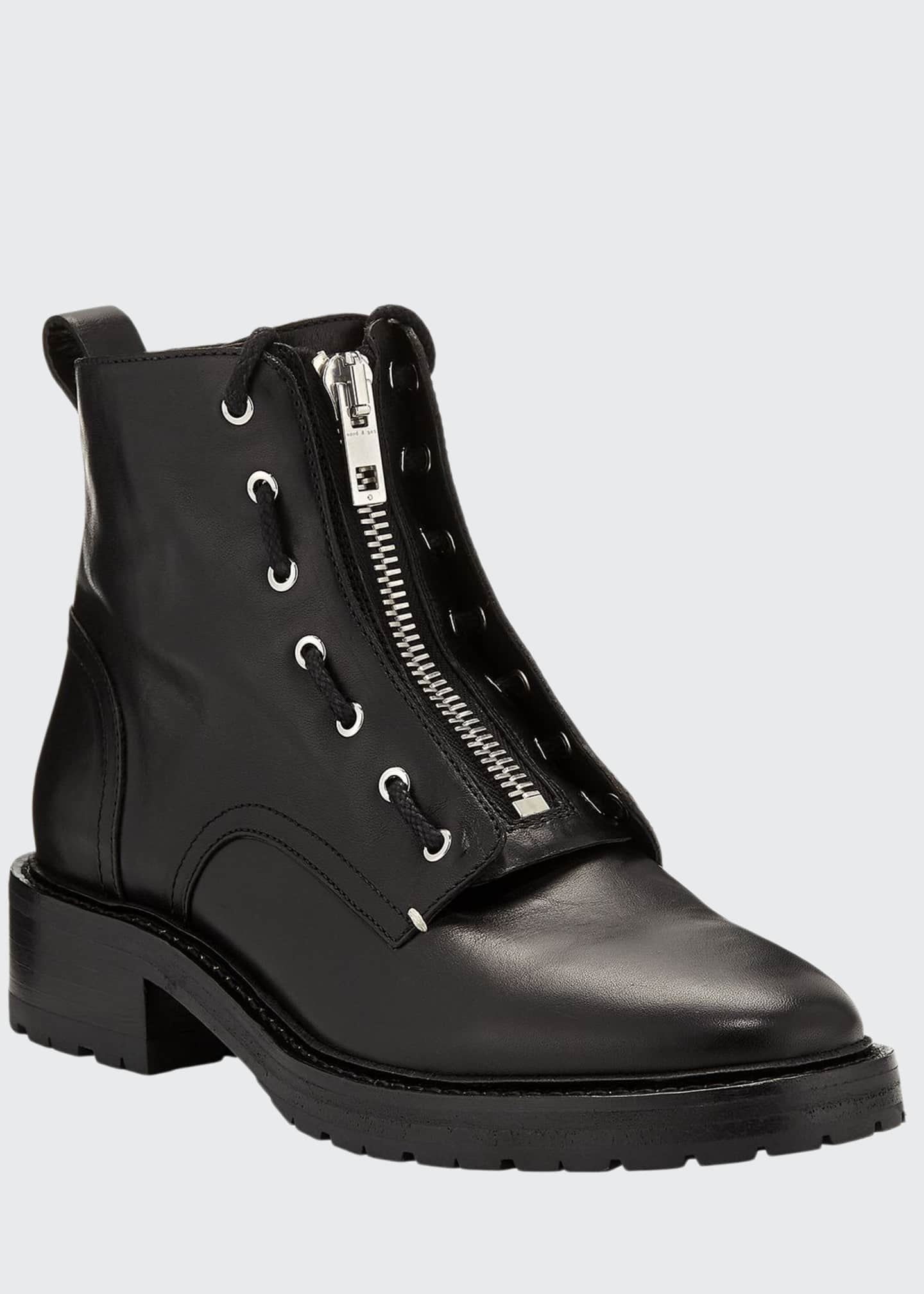 Cannon Leather Combat Boots by Rag & Bone