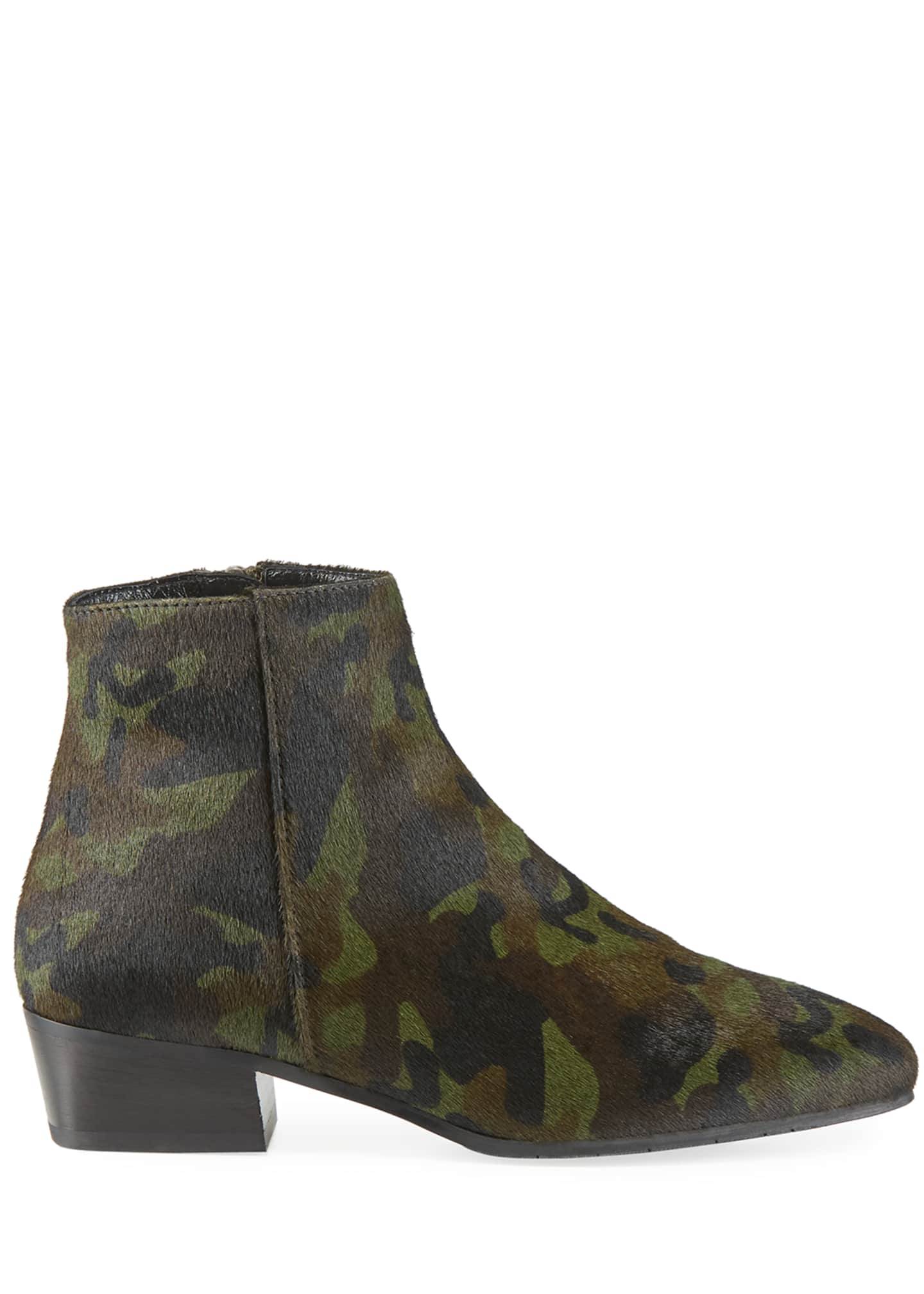 Image 2 of 3: Fuoco Leopard-Print Booties