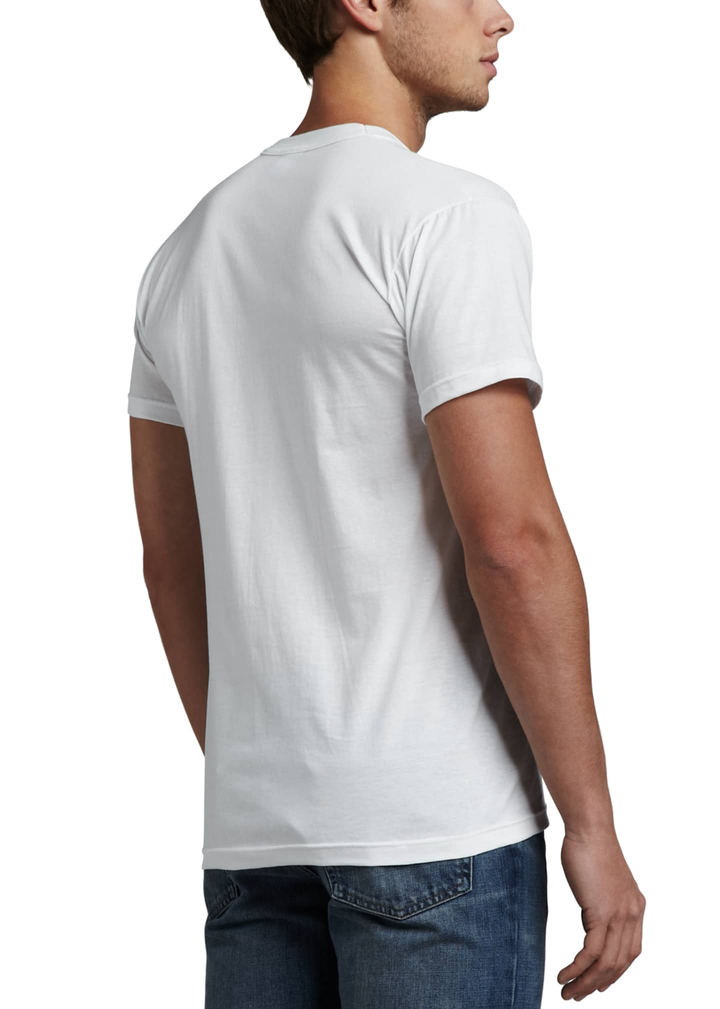 Image 3 of 3: Men's 3-Pack Cotton Stretch T-Shirts