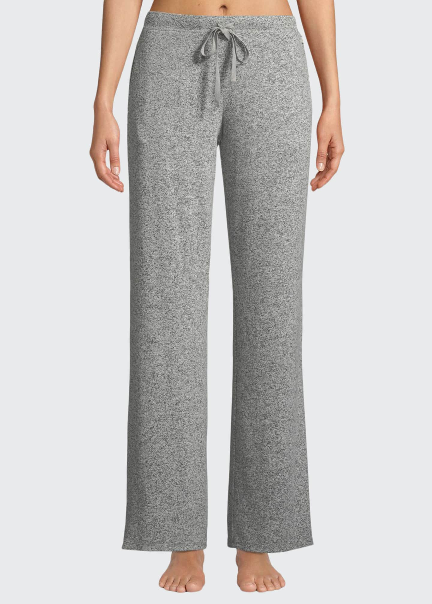 Natori Ulla Brushed Rib-Knit Lounge Pants