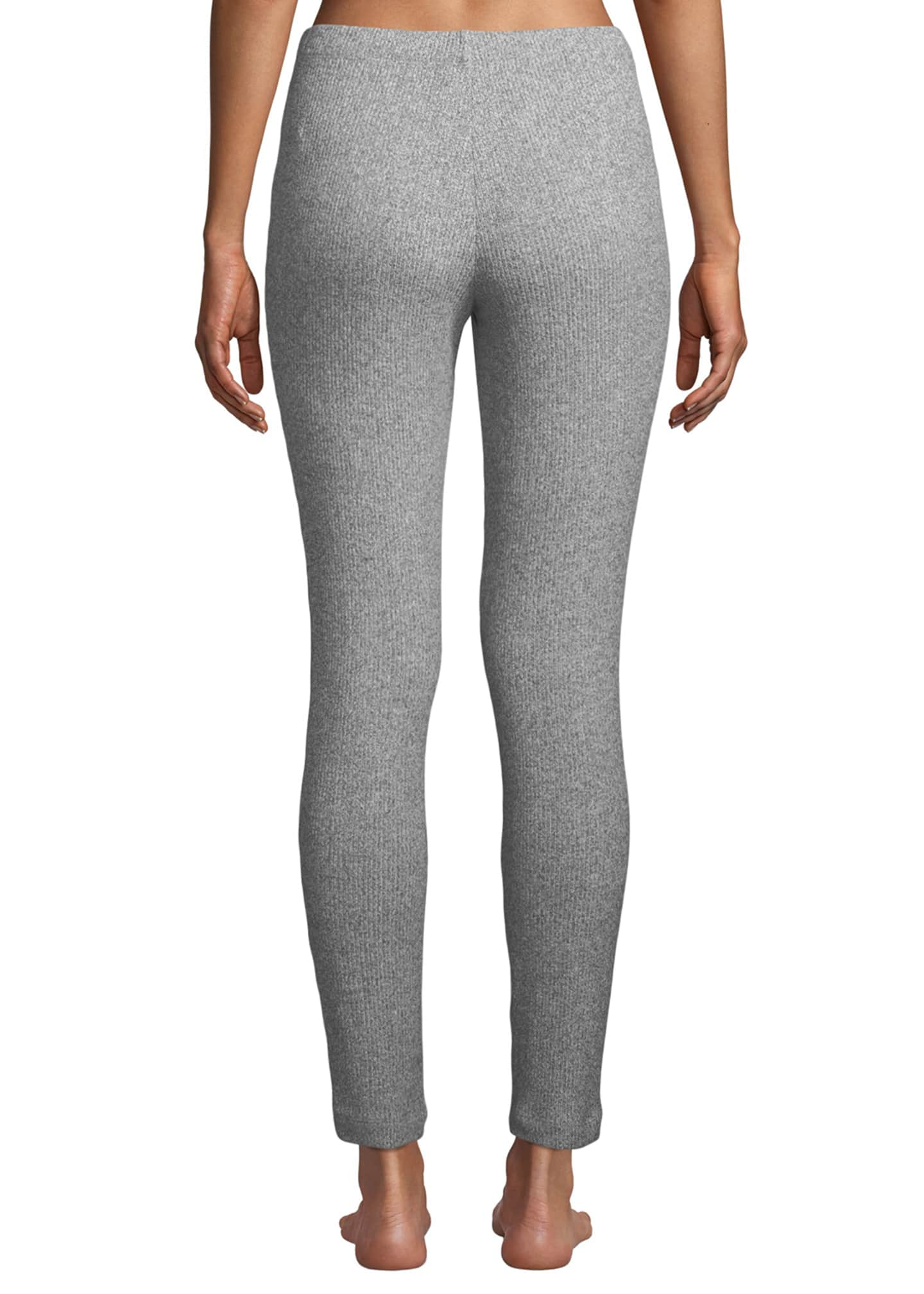 Image 2 of 3: Ulla Ribbed-Knit Lounge Leggings
