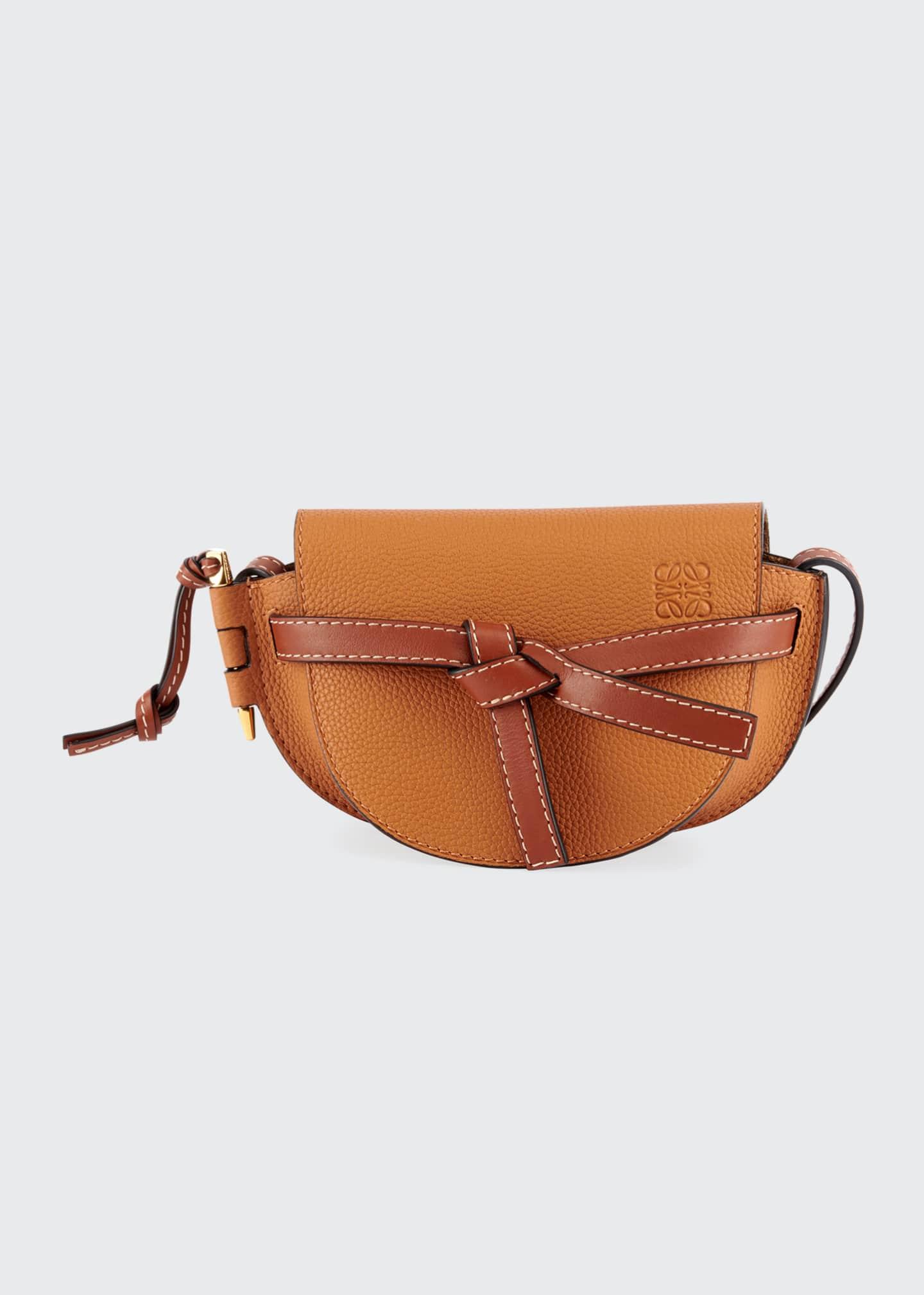 Loewe Gate Mini Grain Leather Shoulder Bag