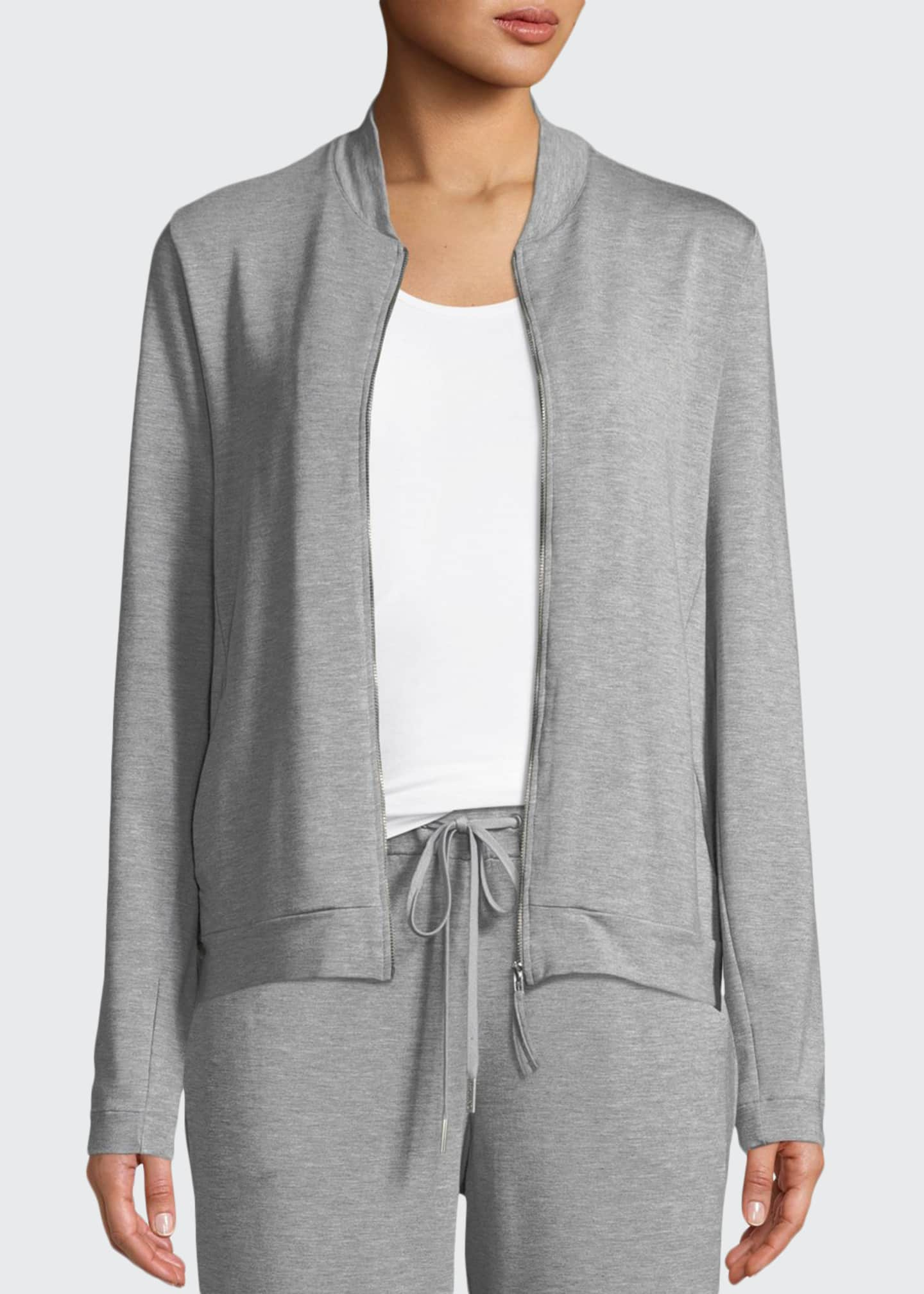 Hanro Balance Zip-Front Lounge Jacket