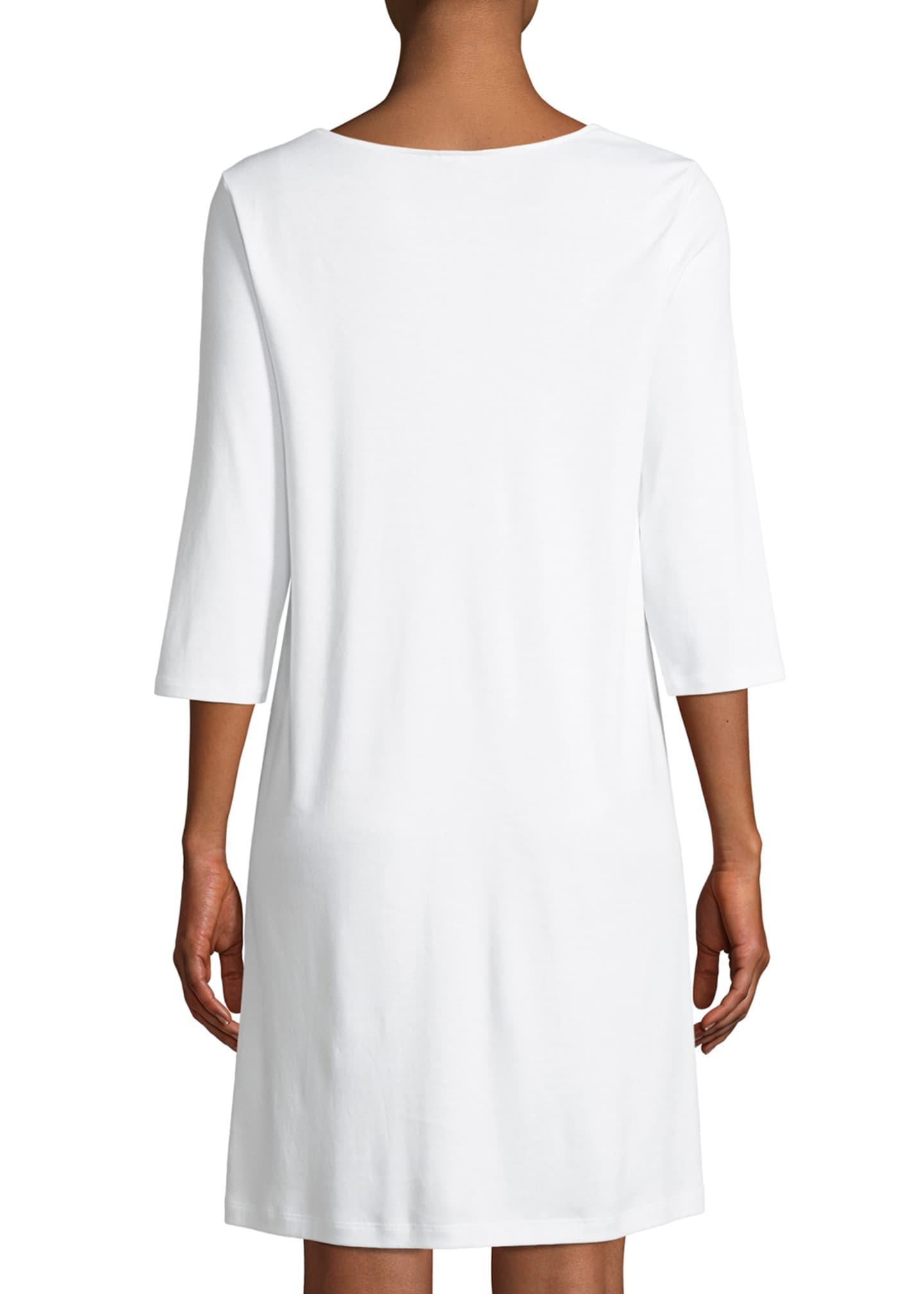 Image 2 of 3: Moments 3/4 Sleeve Nightgown