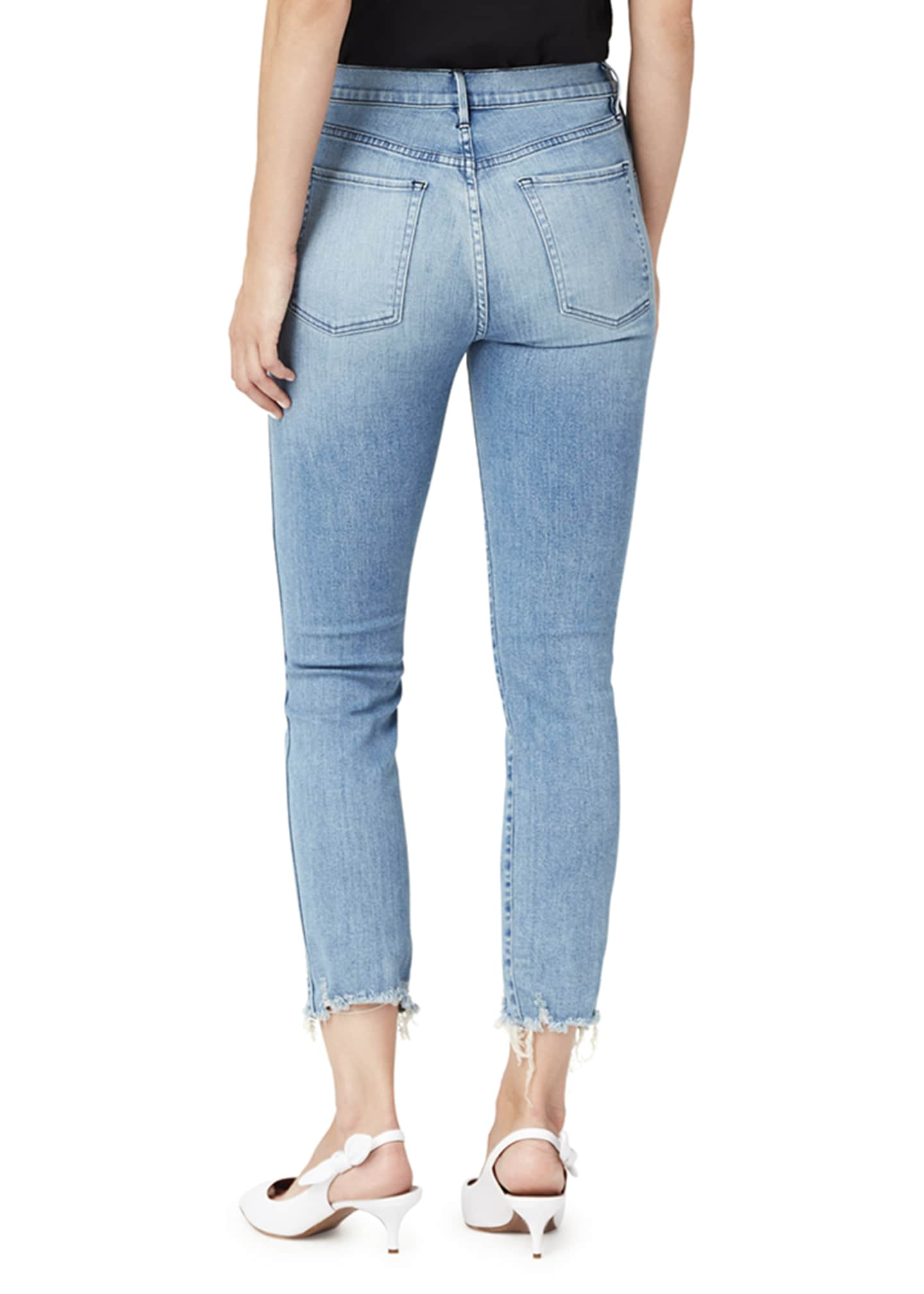 Image 2 of 2: W3 High-Rise Authentic Straight-Leg Jeans
