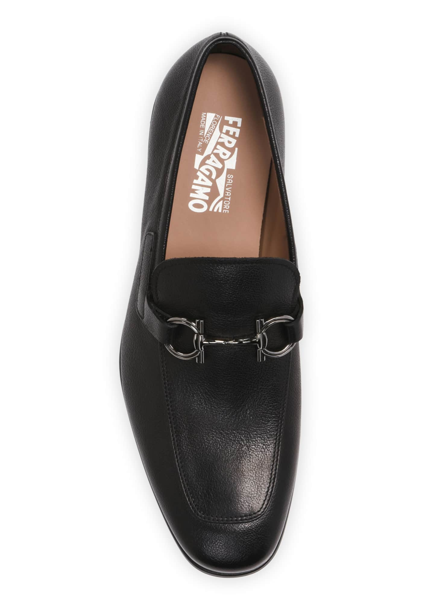 Image 2 of 4: Men's Arlin Leather Slip-On Bit Loafers