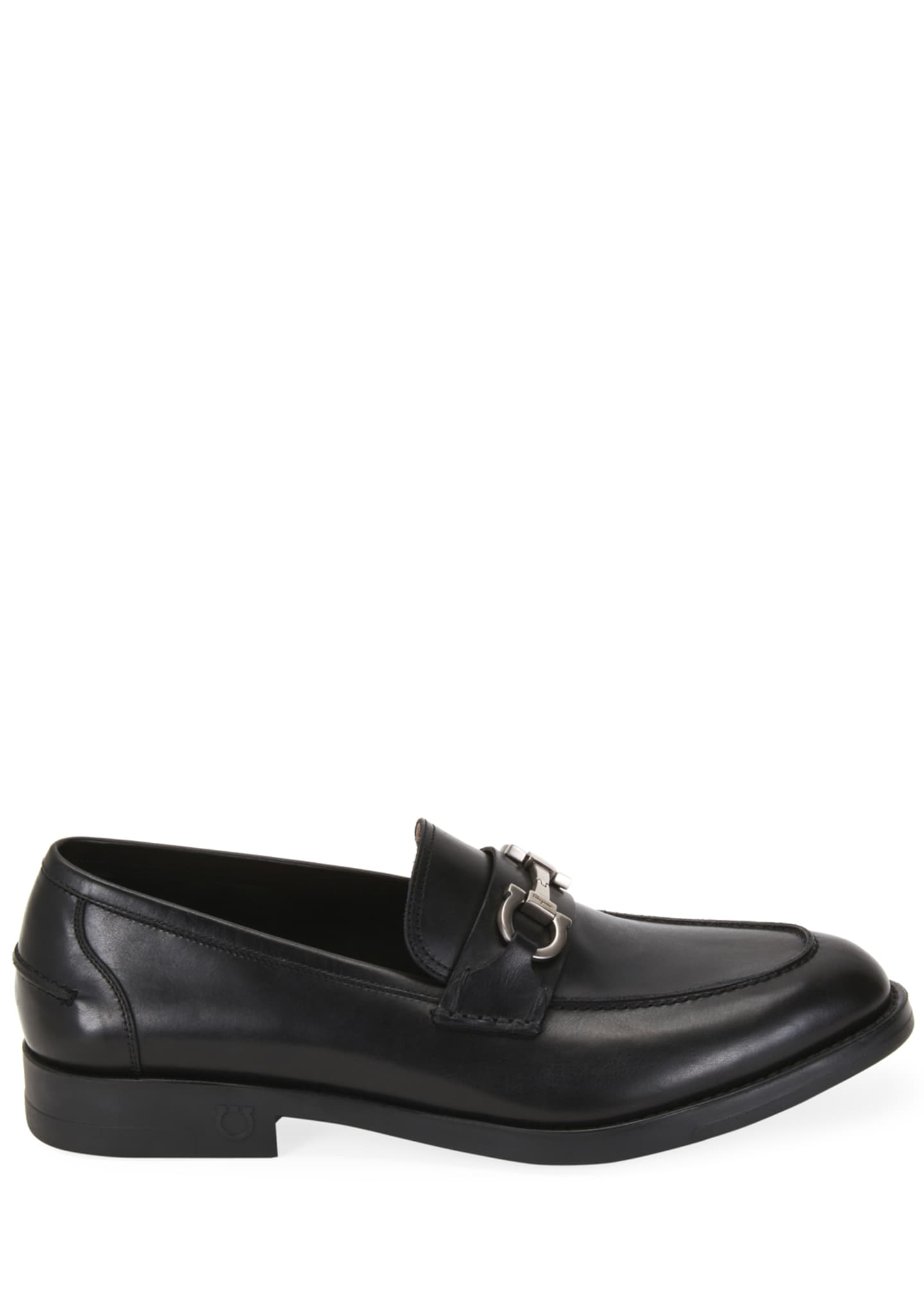 Image 3 of 4: Men's Arlin Leather Slip-On Bit Loafers