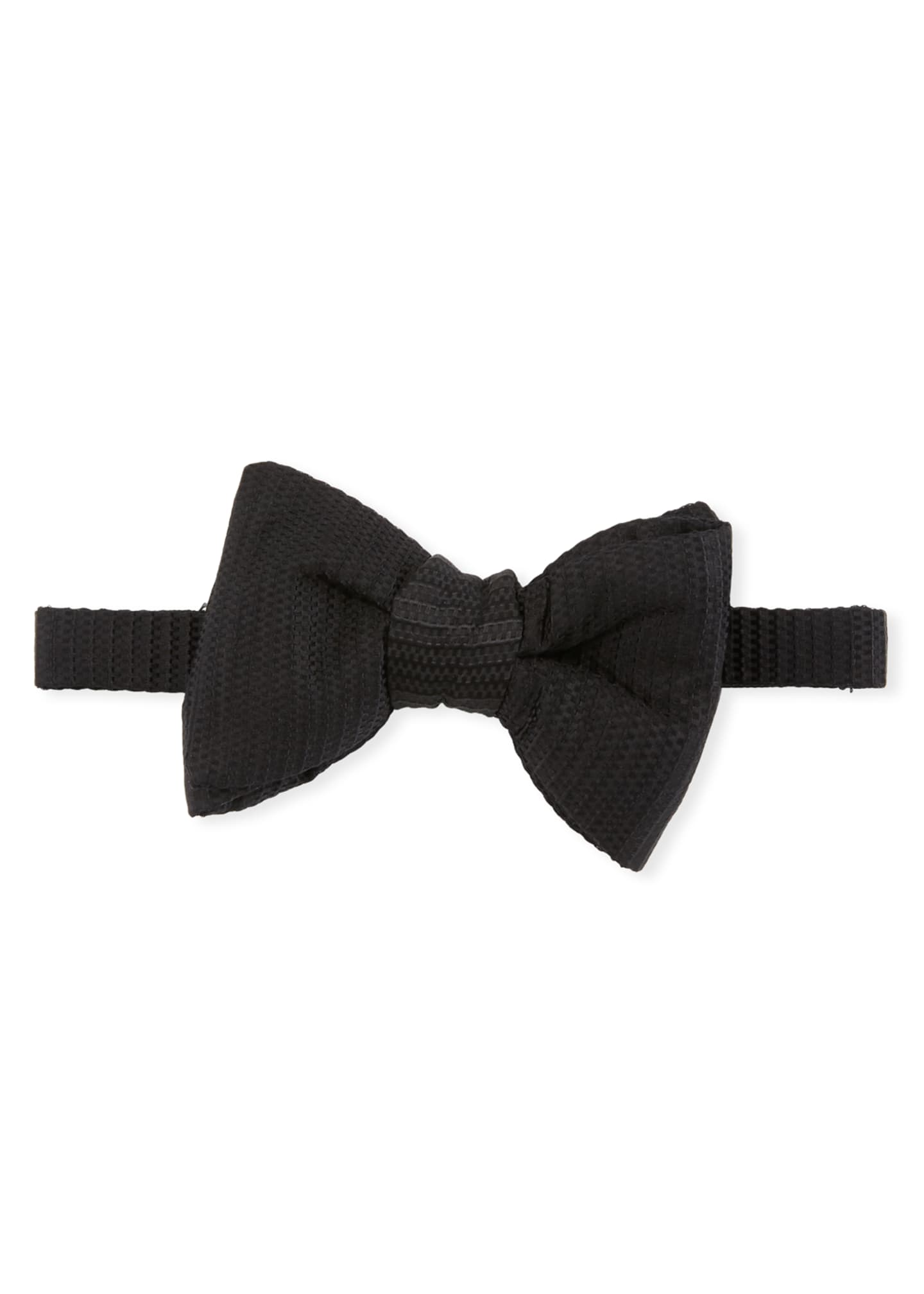 TOM FORD Chain Jacquard Bow Tie