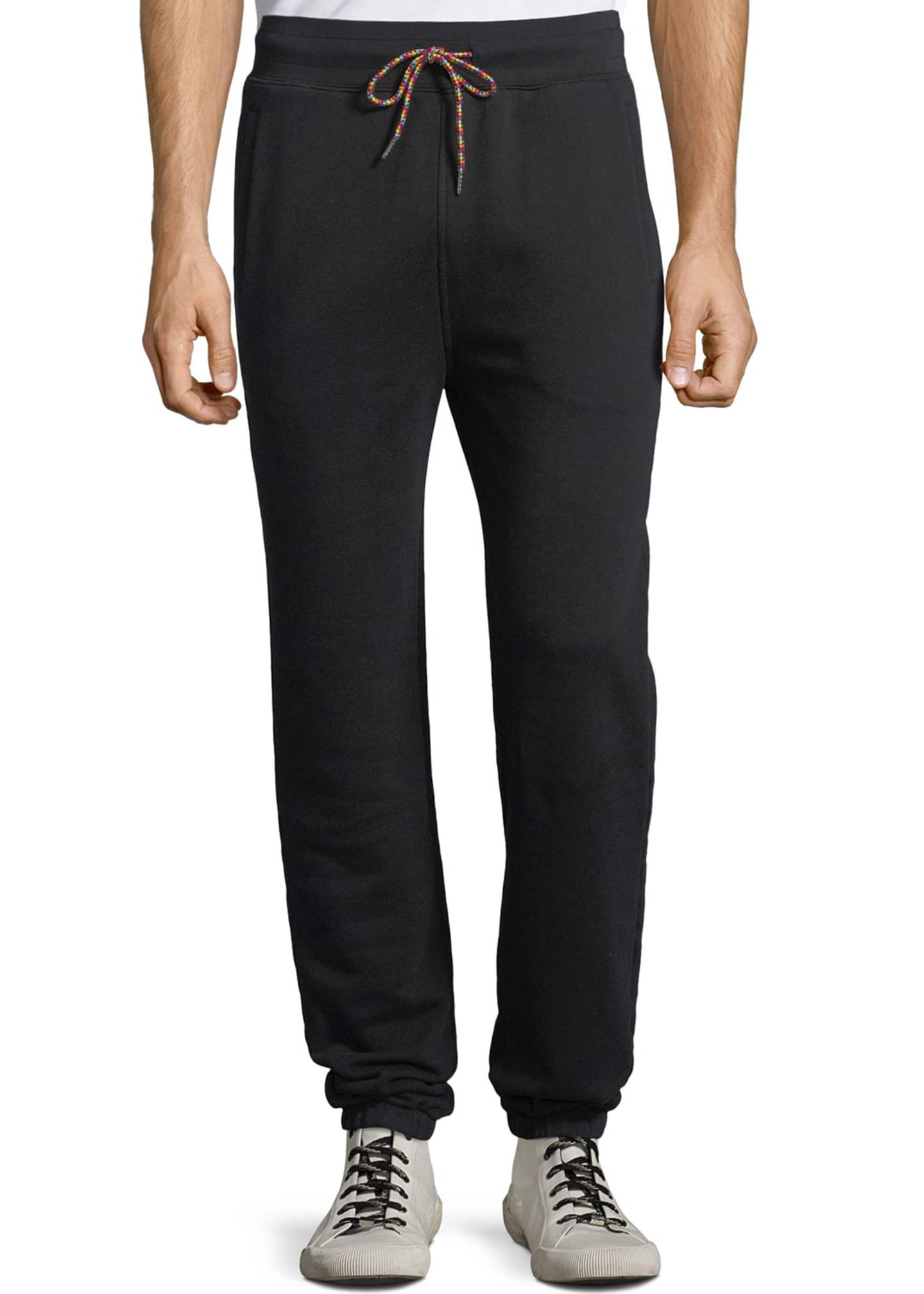 FRAME Men's Camp Cotton-Blend Sweatpants