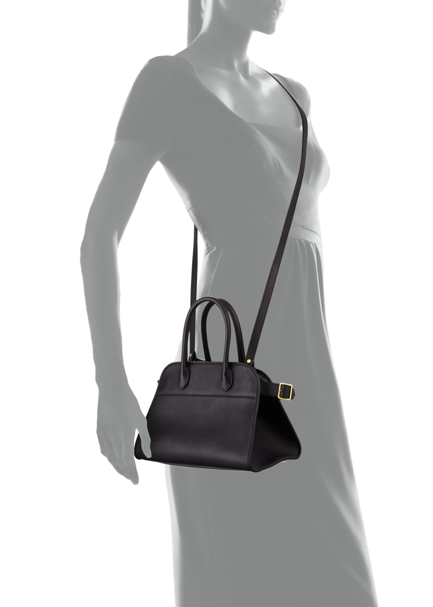 Image 4 of 4: Margaux 10 Bag in Smooth Calfskin